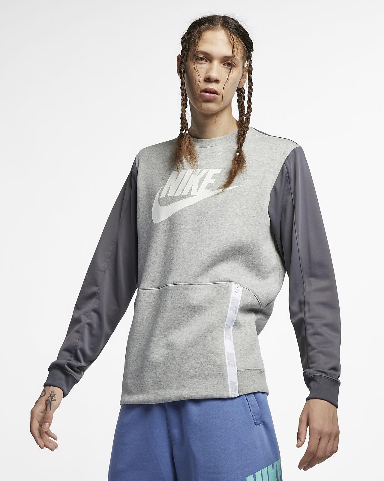 Nike Sportswear Herenshirt met ronde hals