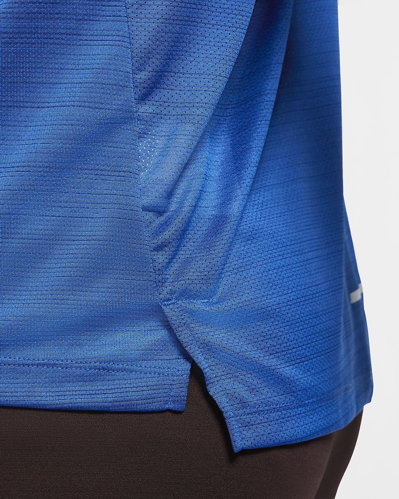 Maglia da running a manica lunga Nike Dri FIT Miler Uomo
