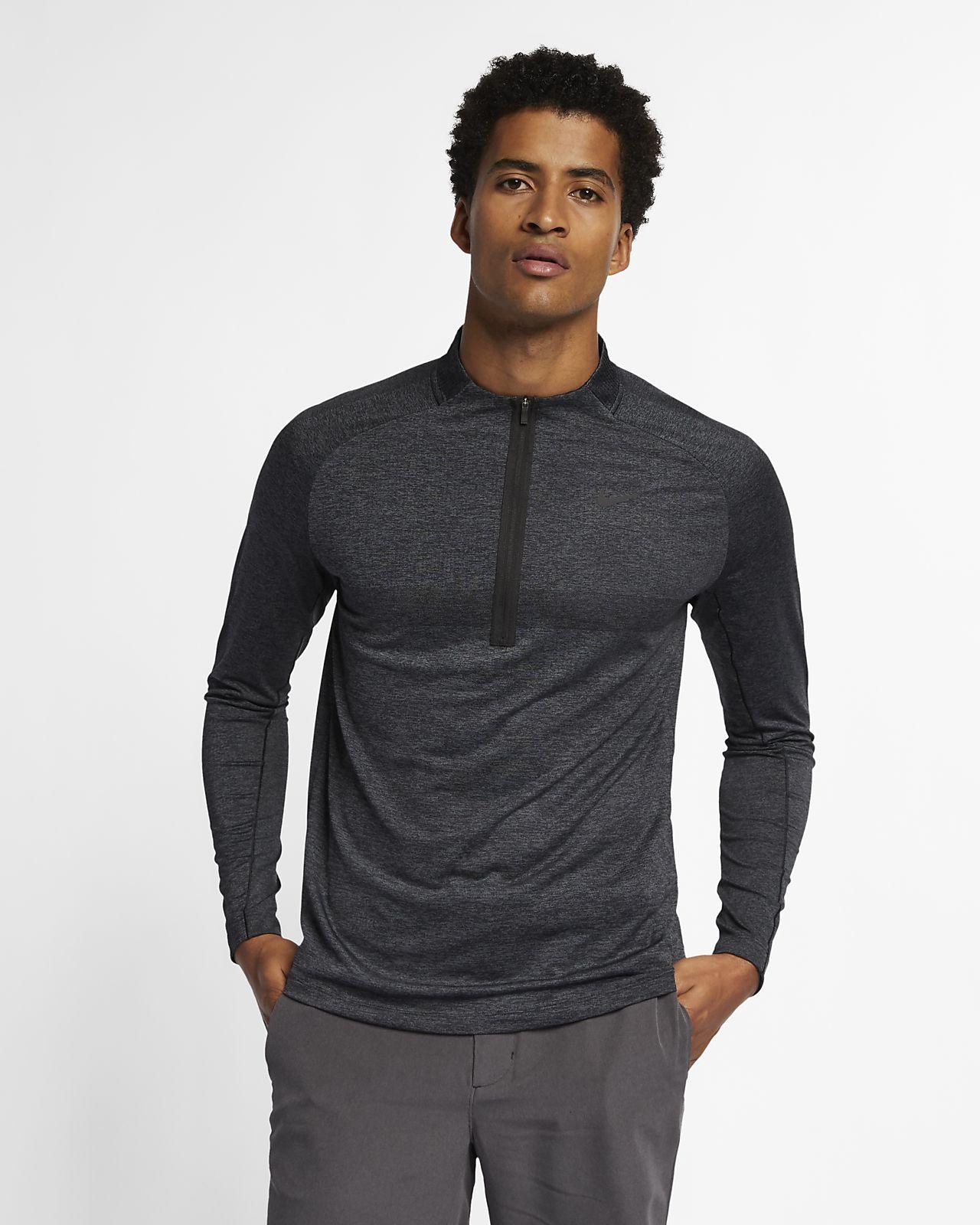 Nike Dri-FIT Camiseta de golf con media cremallera - Hombre