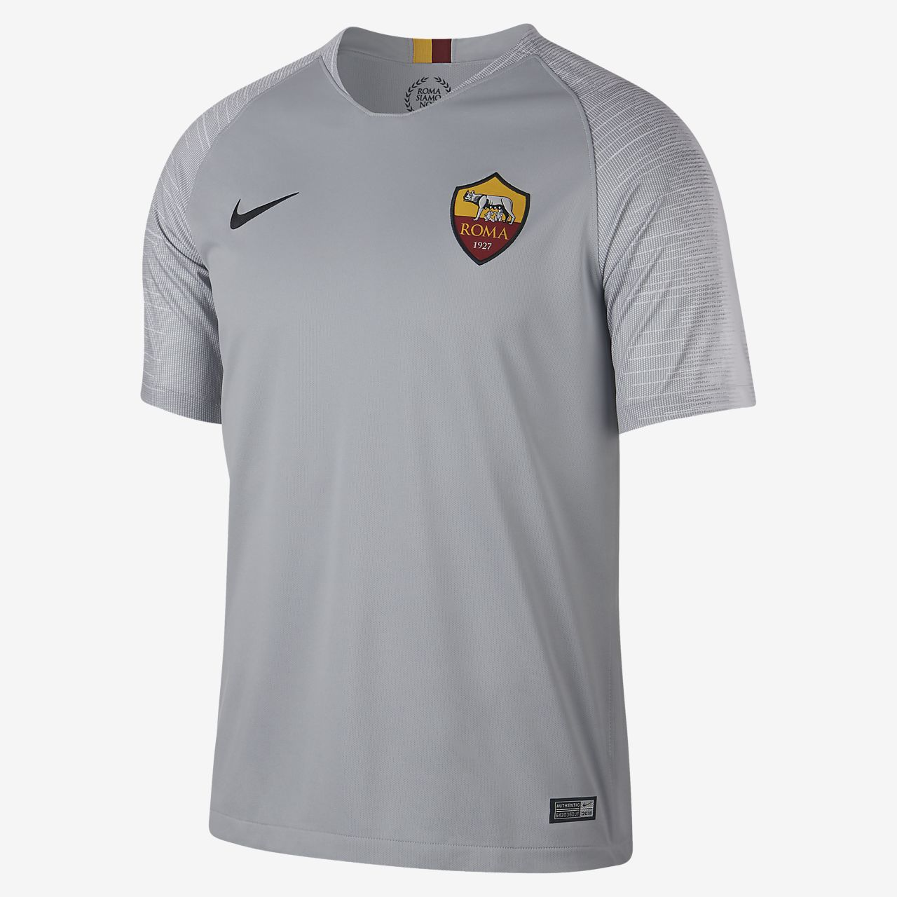 767dbc6156c24 Camiseta de fútbol para hombre 2018 19 A.S. Roma Stadium Away. Nike ...