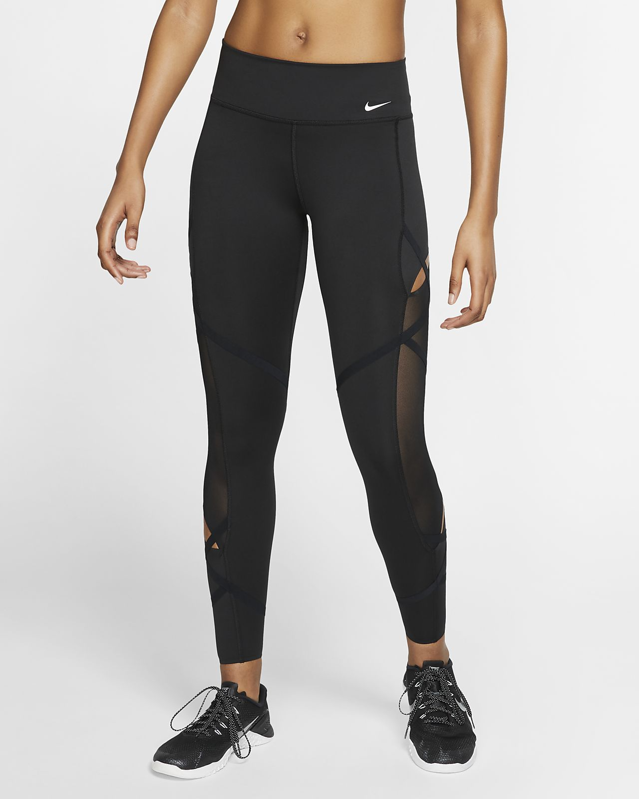 Nike One Icon Clash 7/8-Tights für Damen