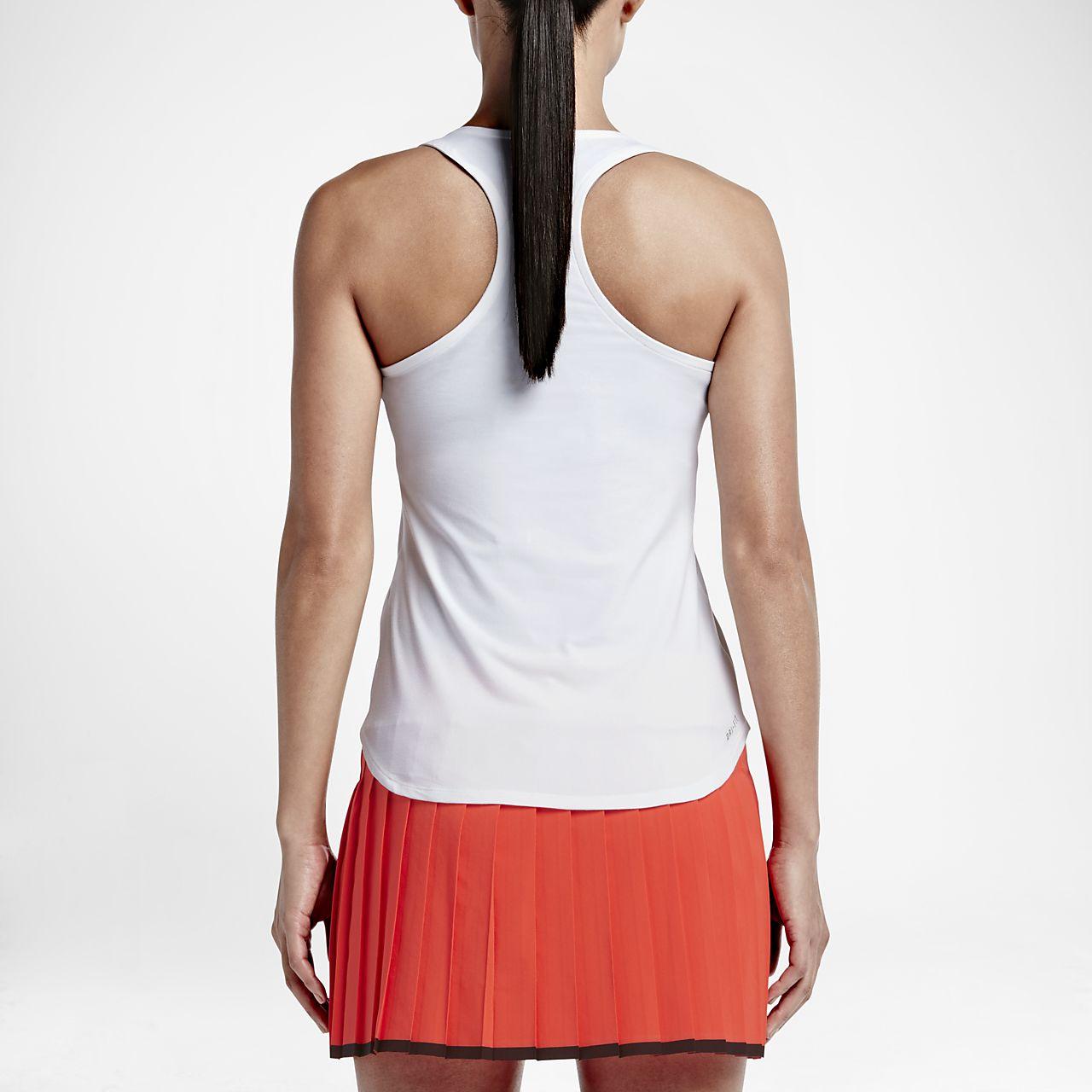 372b5280edbf5 NikeCourt Team Pure Women s Tennis Tank Top. Nike.com EG