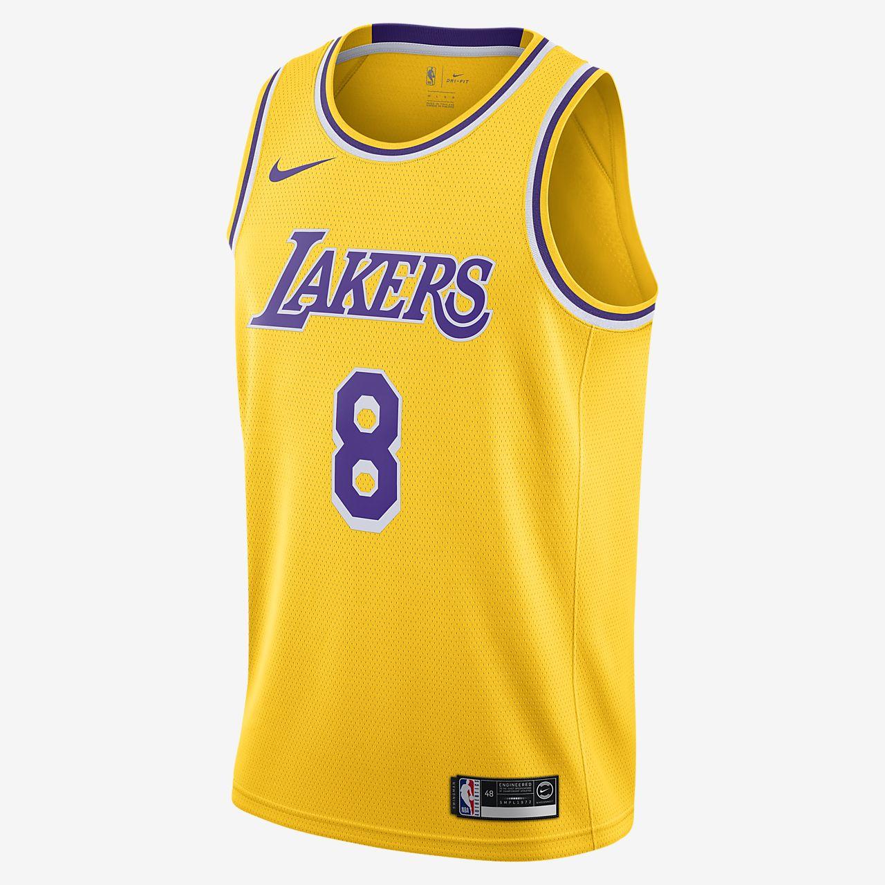Kobe Bryant Lakers Icon Edition Nike NBA Swingman Jersey