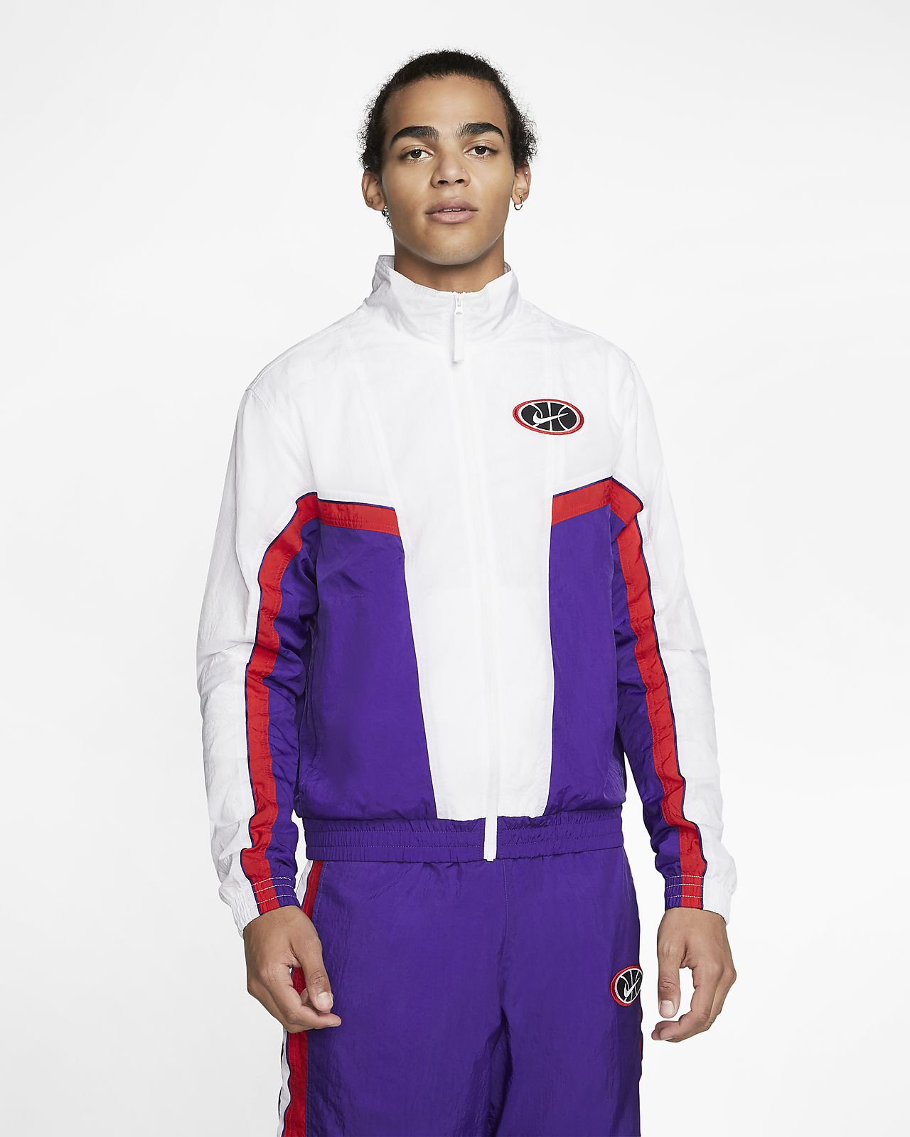 Мужская баскетбольная куртка Nike Throwback