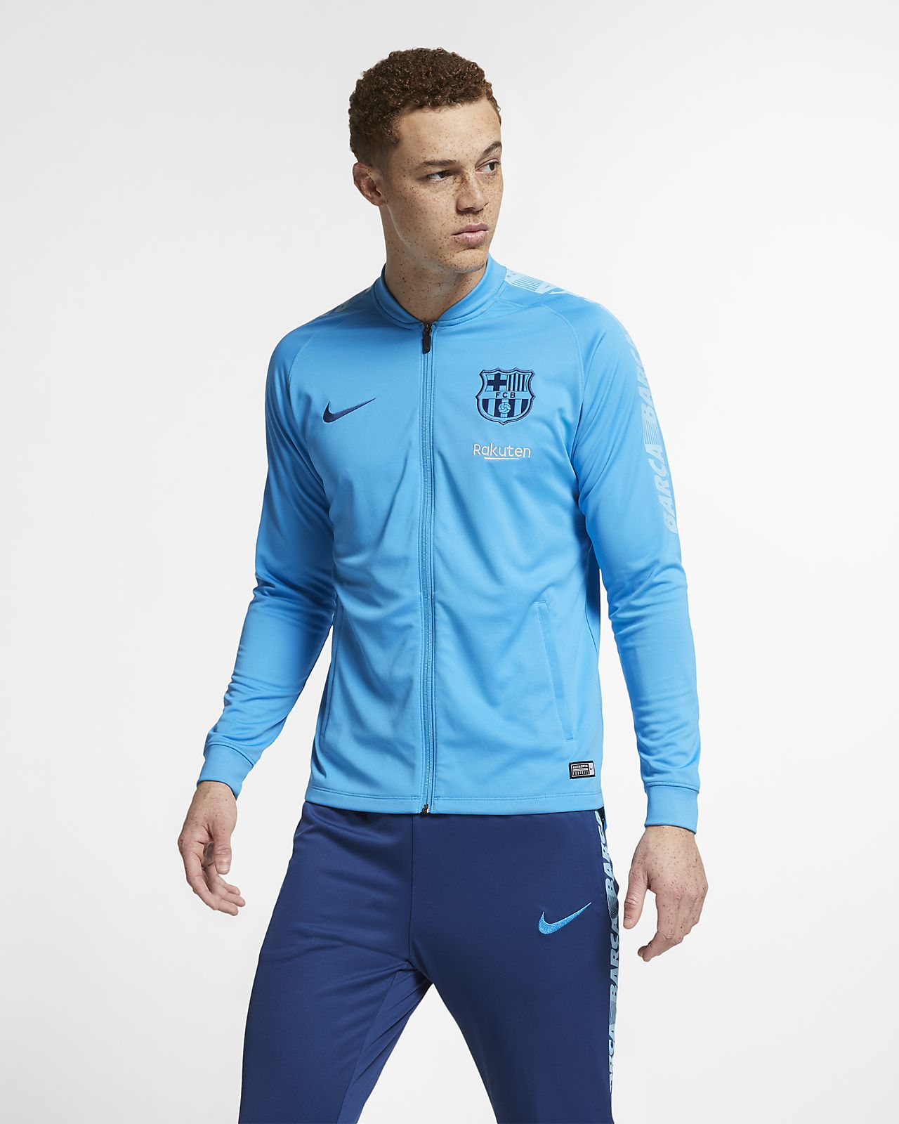 FC Barcelona Dri-FIT Squad Men's Football Track Suit