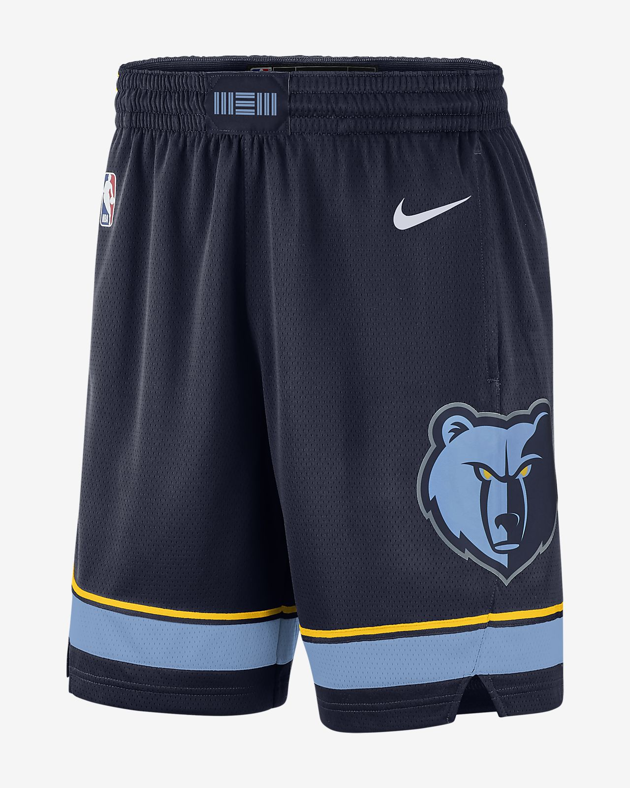 Memphis Grizzlies Icon Edition Swingman Men s Nike NBA Shorts. Nike.com e1b476b5af43