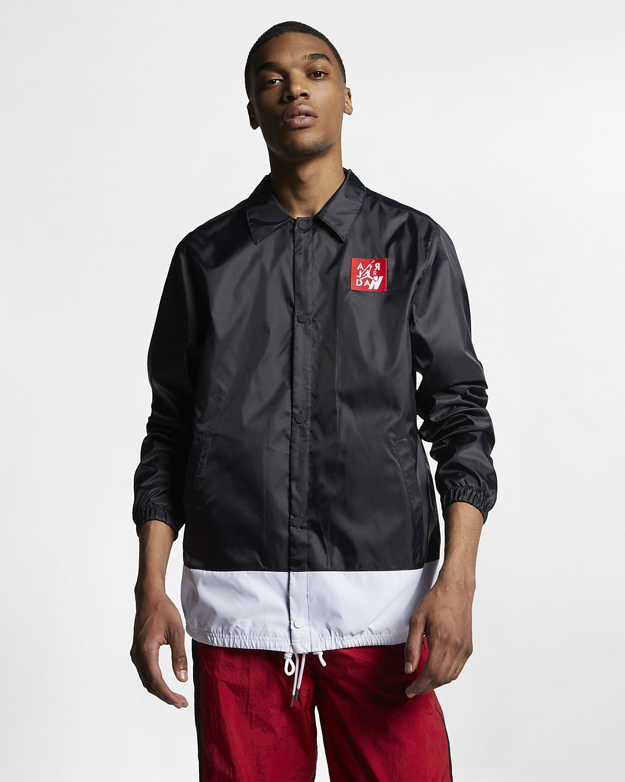 b9c81e49692 Jordan Legacy AJ4 Men's Coaches' Jacket. Nike.com AE