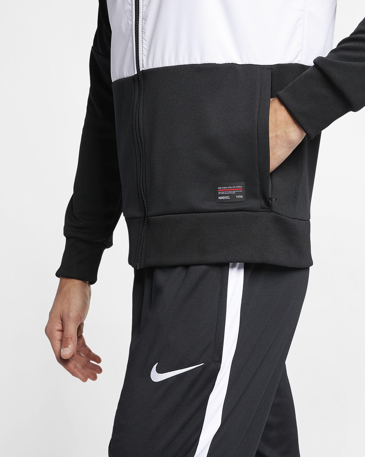 ccb7f9db5 Nike F.C. Men's Soccer Track Jacket. Nike.com