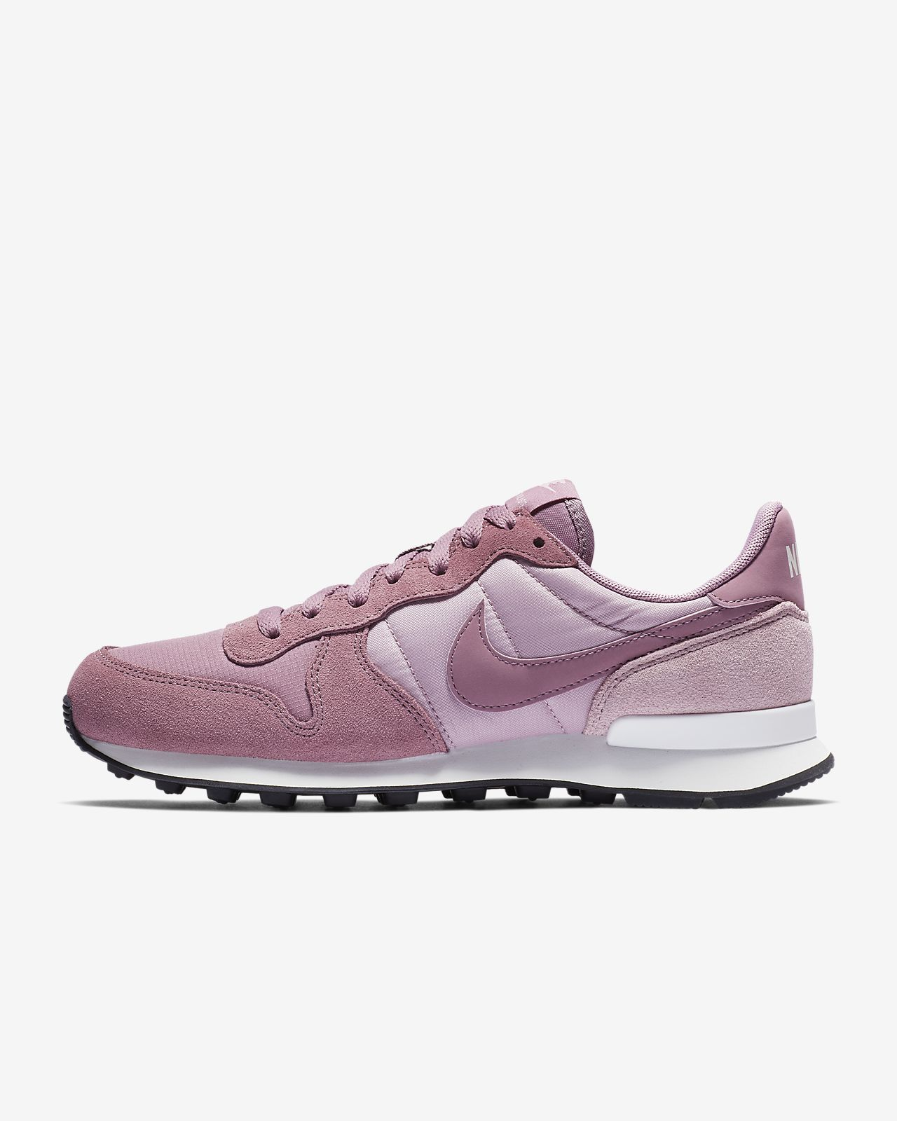 nike internationalist femme gris rose