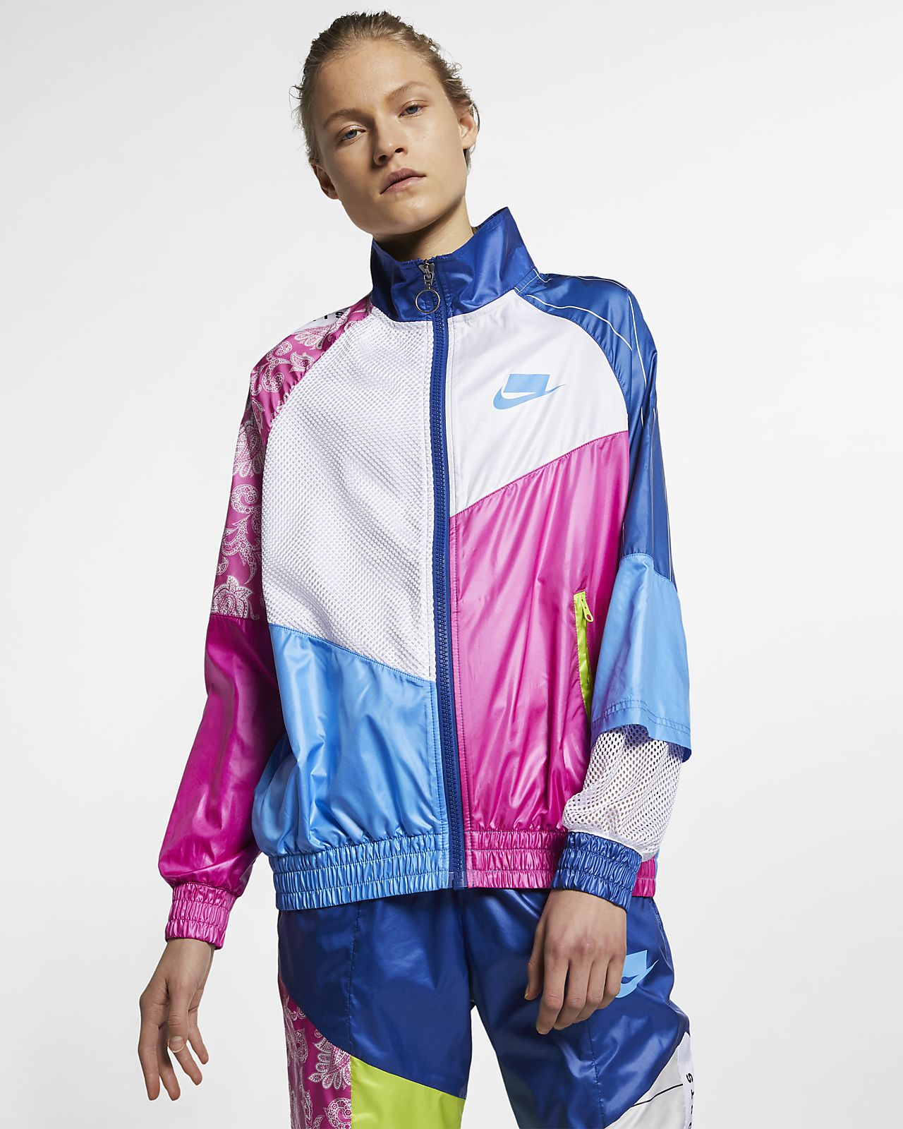 Track jacket in woven Nike Sportswear NSW
