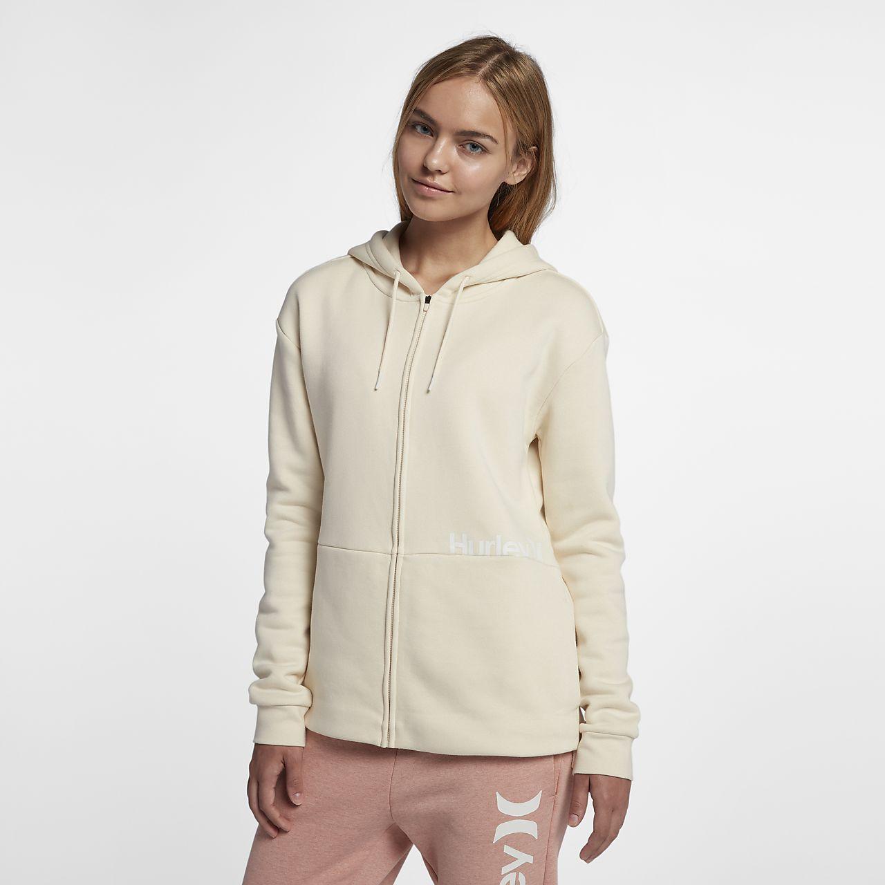Hurley One and Only Cut  Women's Fleece Full-Zip Top