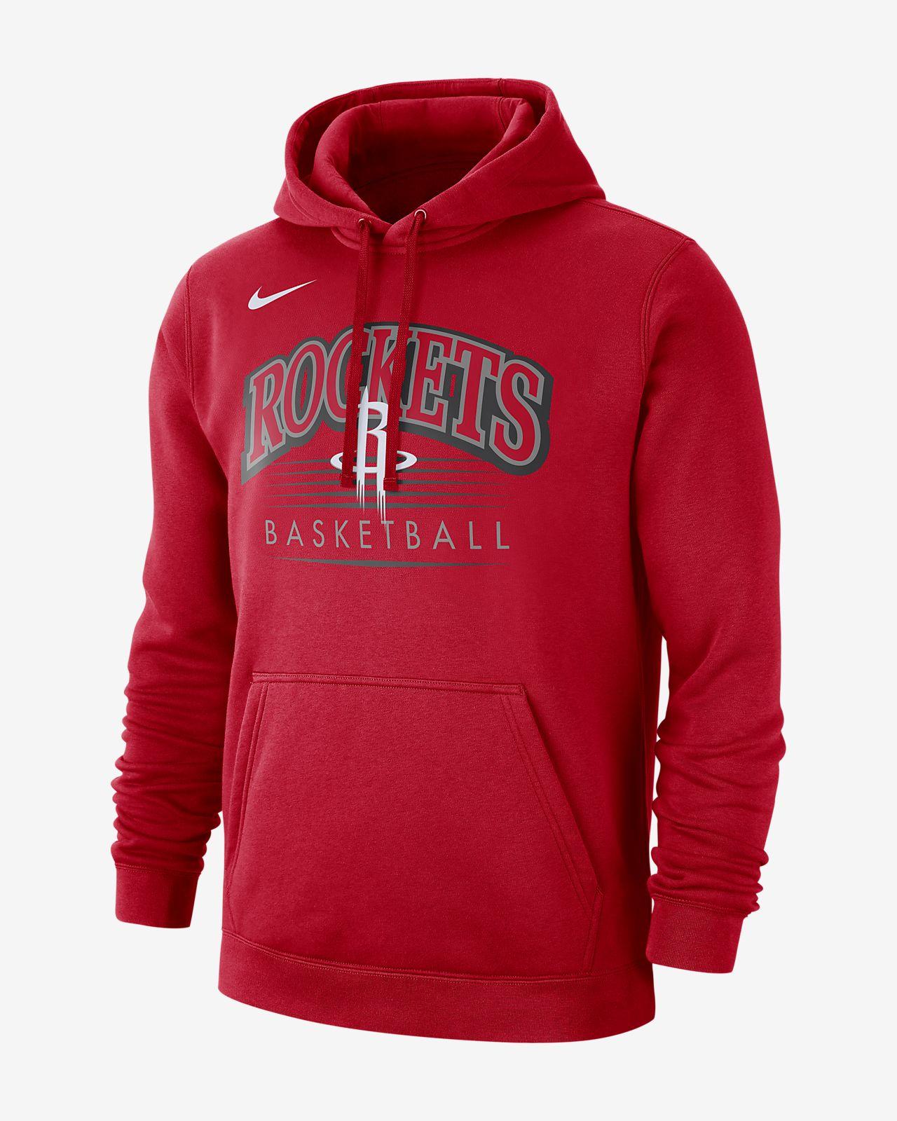 Męska bluza z kapturem NBA Houston Rockets Nike