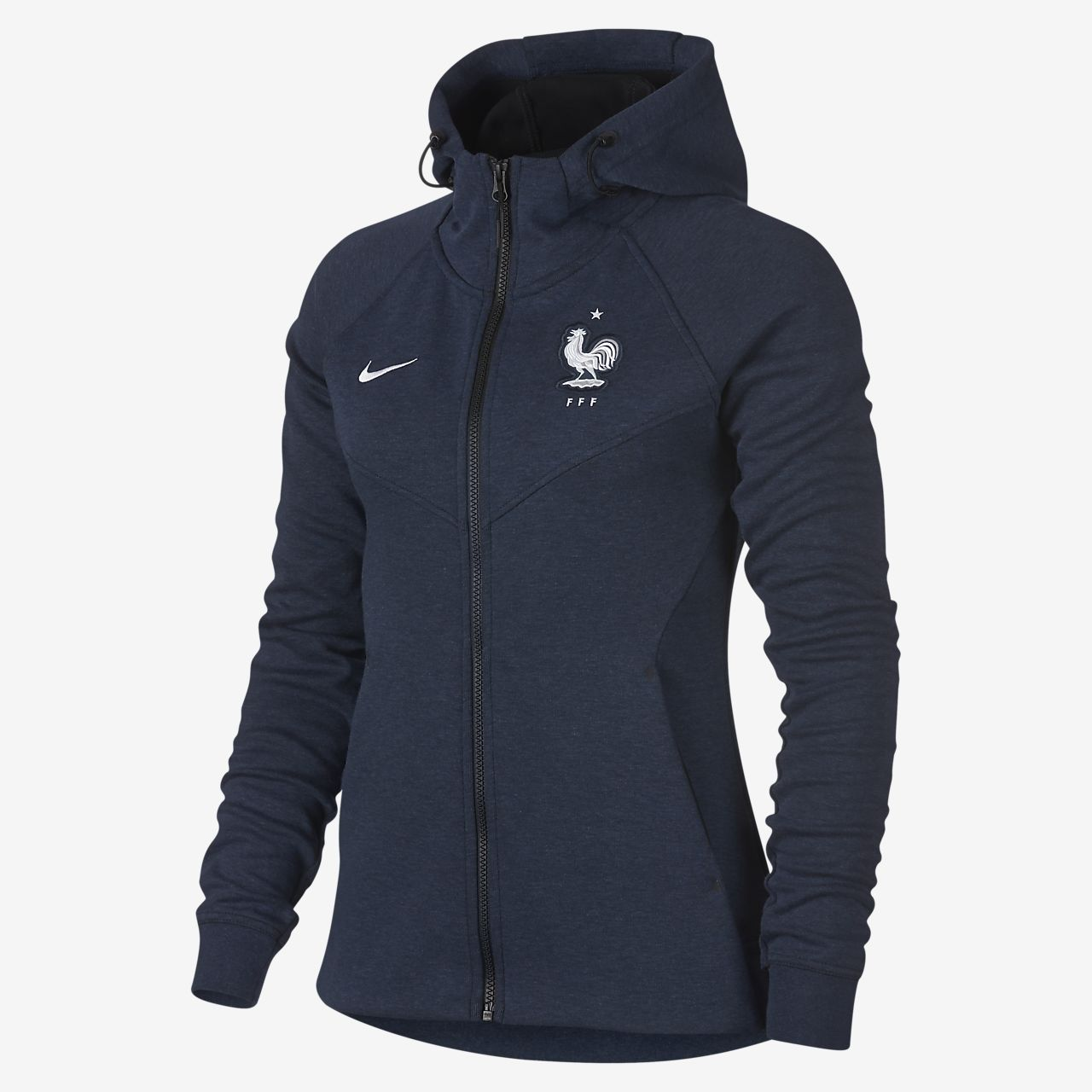 160be22d1f1b Sweat à capuche entièrement zippé FFF Tech Fleece pour Femme. Nike ...