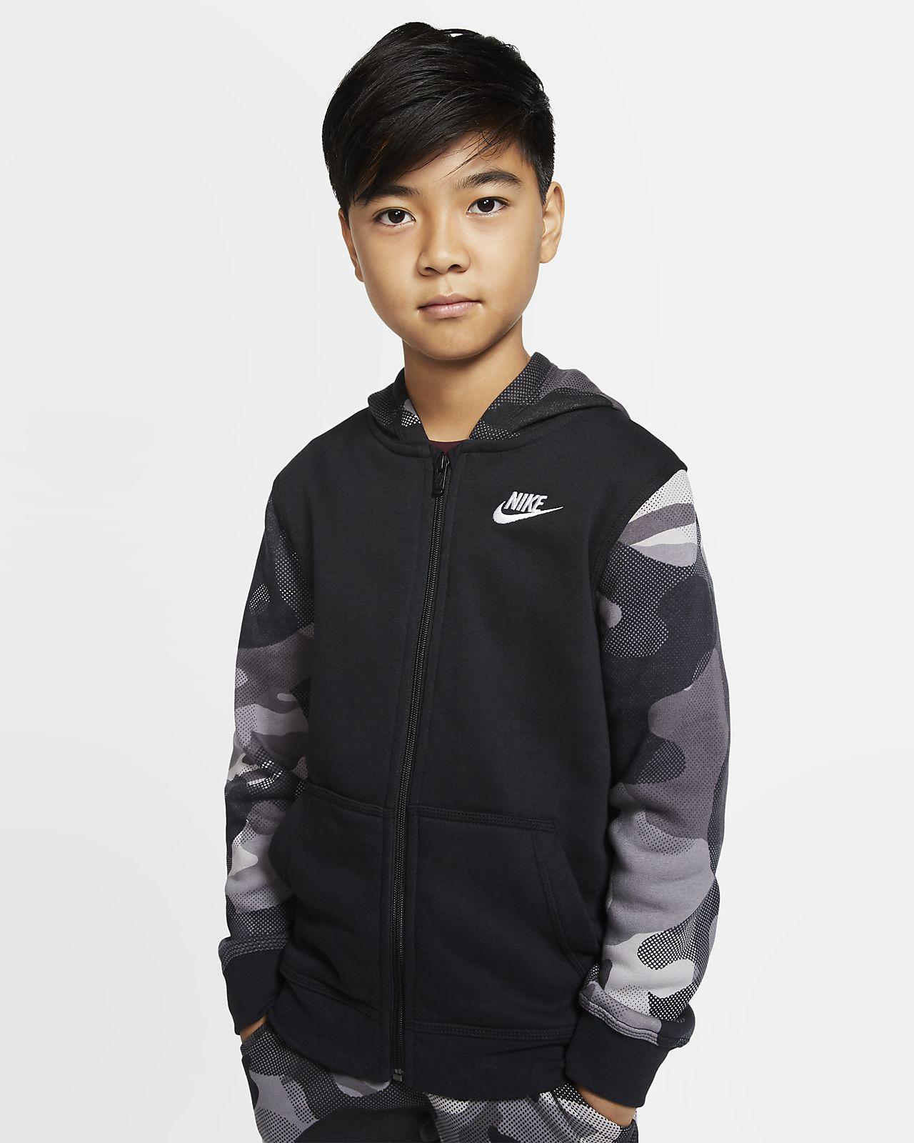 Nike Sportswear Club Hoodie met rits voor jongens