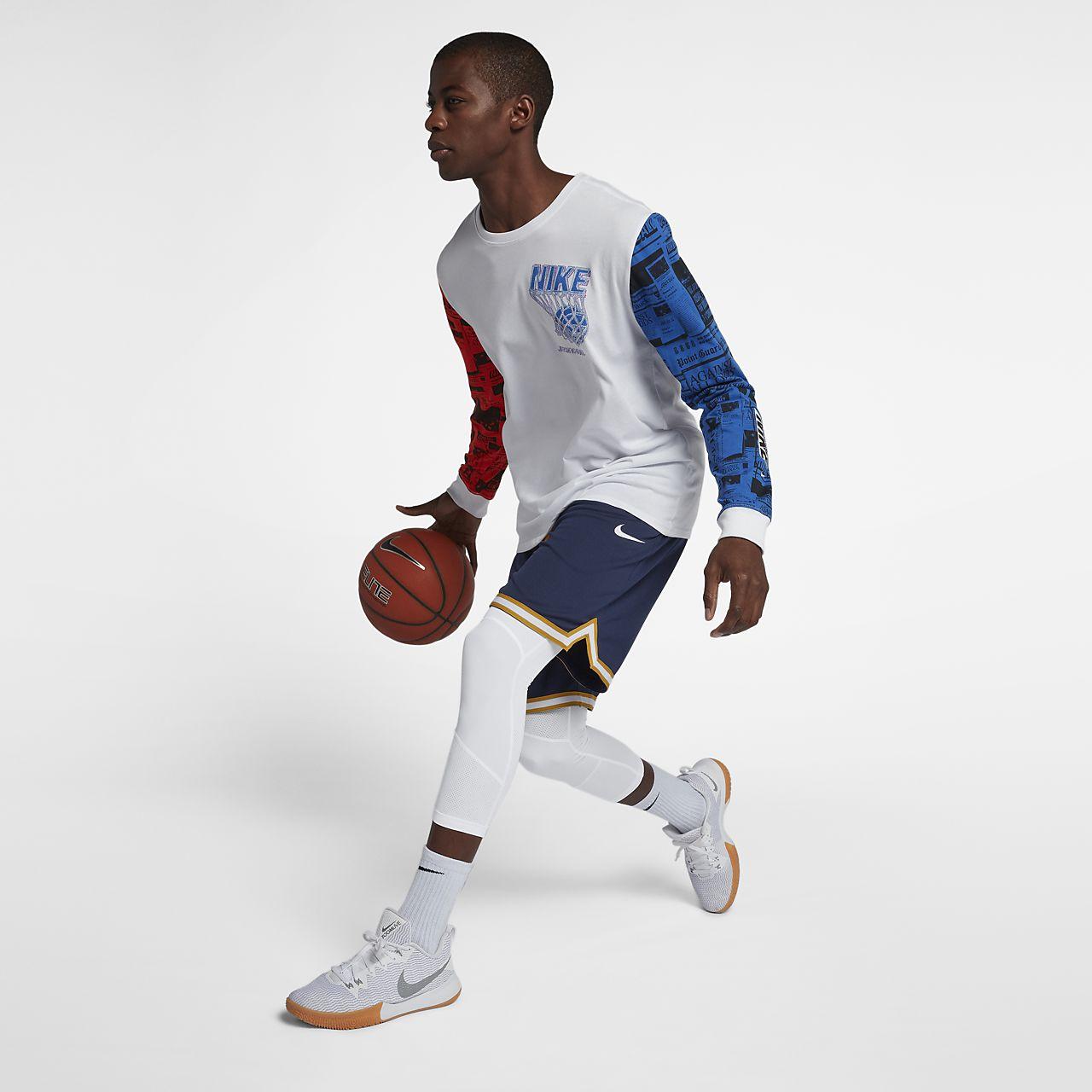 3359cc1b2721e Nike Pro Dri-FIT Men's 3/4 Basketball Tights. Nike.com