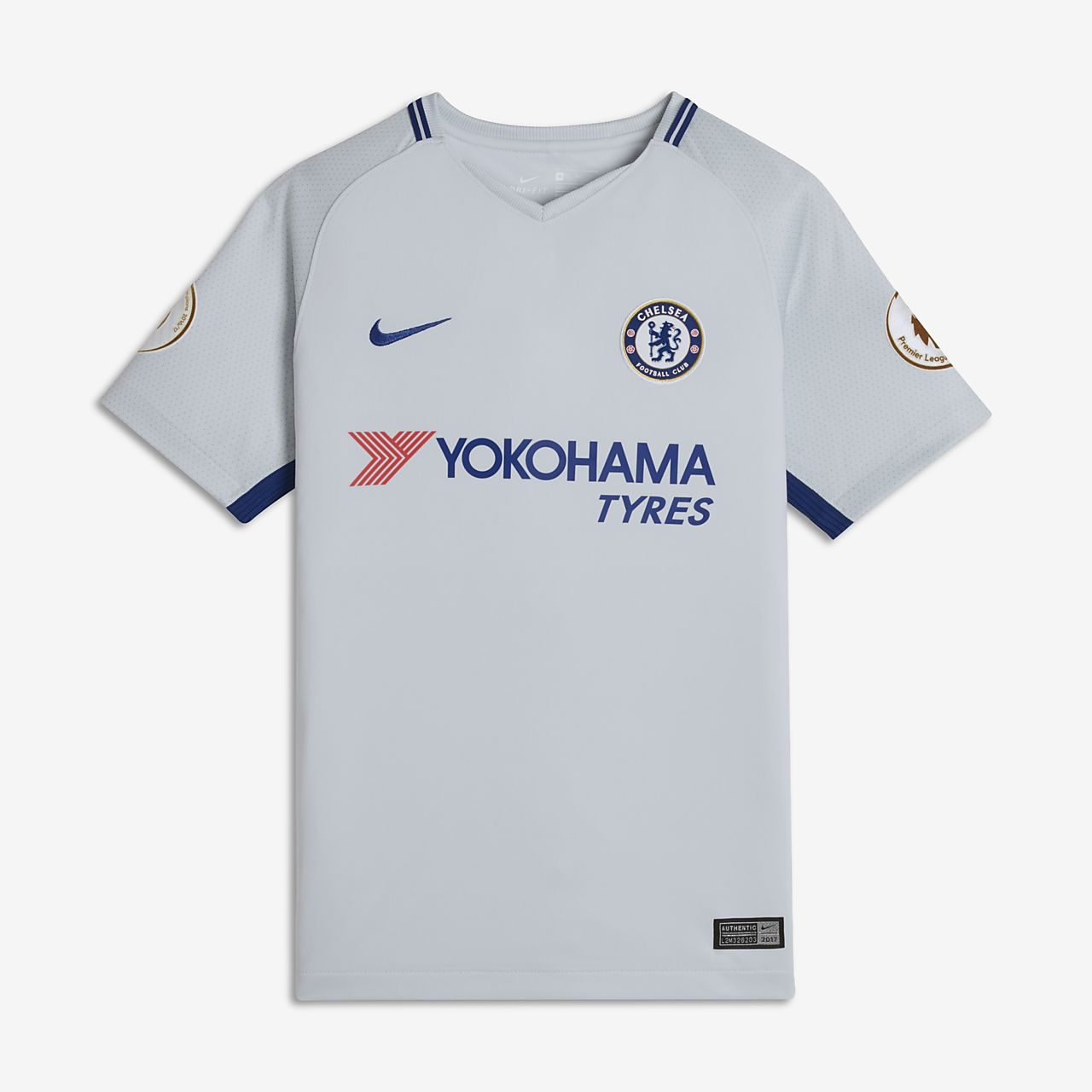2017/18 Chelsea FC Stadium Away (Alvaro Morata) Fußballtrikot für ältere Kinder