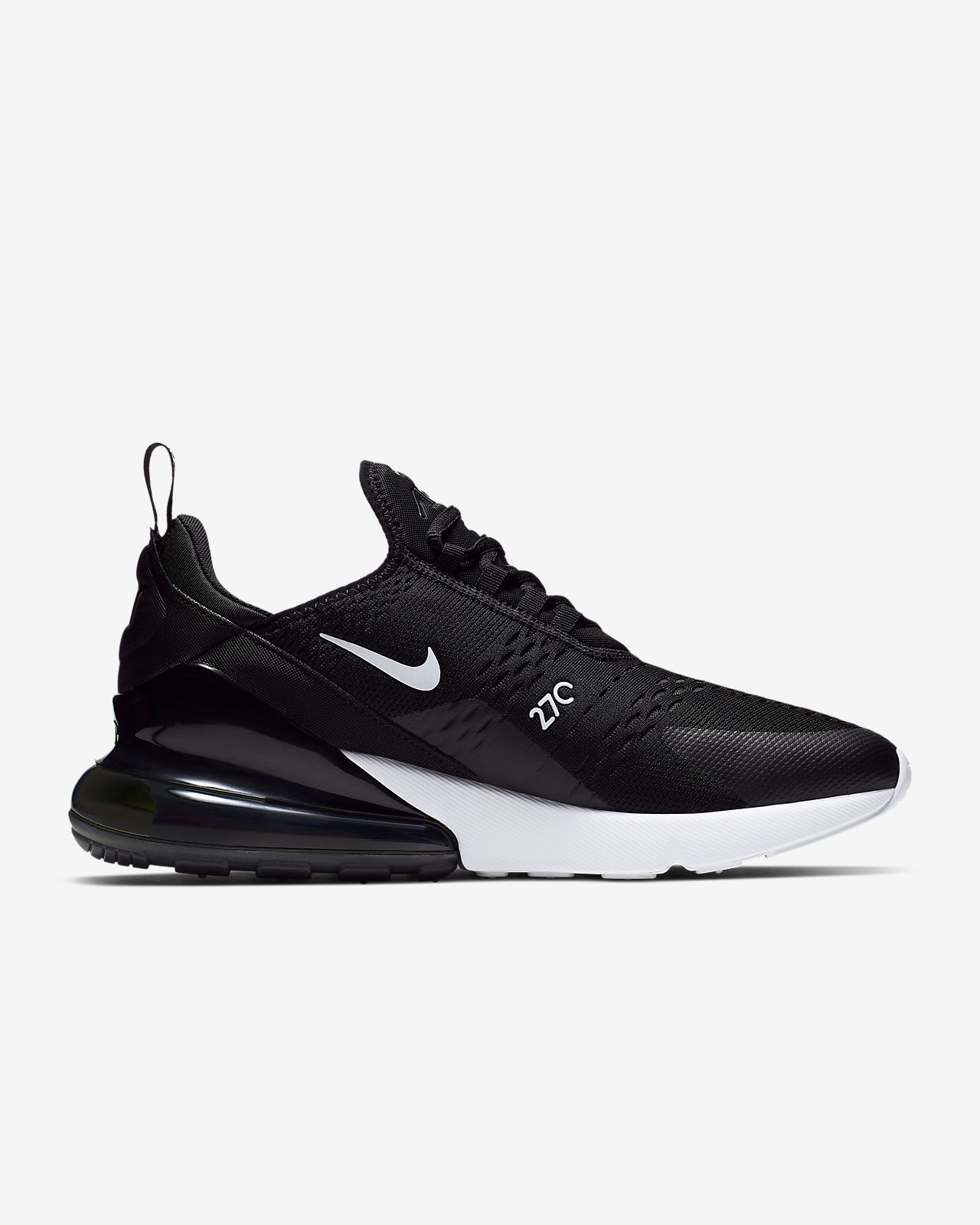 nike air max the zwart