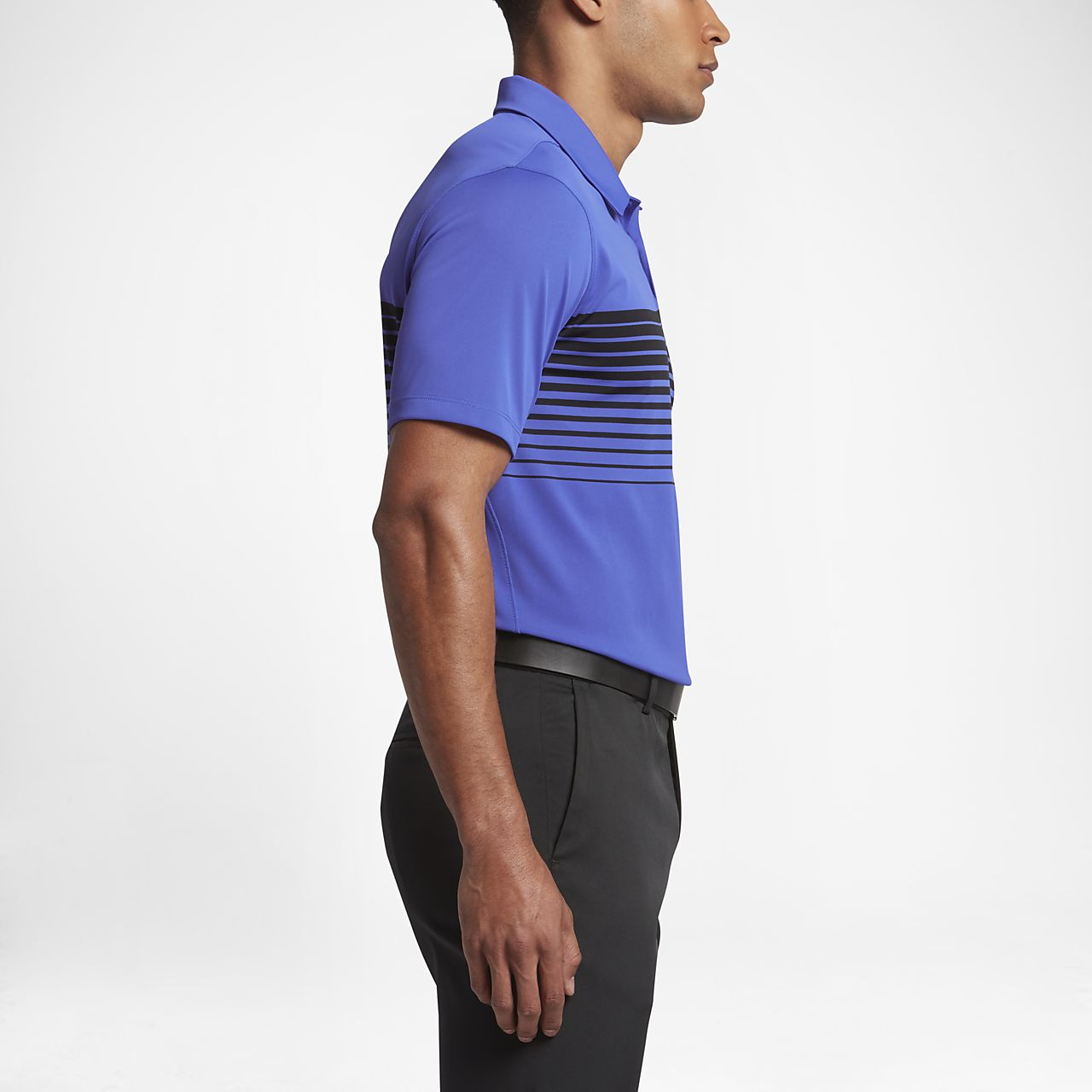 bd8636ac Nike Mobility Speed Stripe Men's Standard Fit Golf Polo. Nike.com ID
