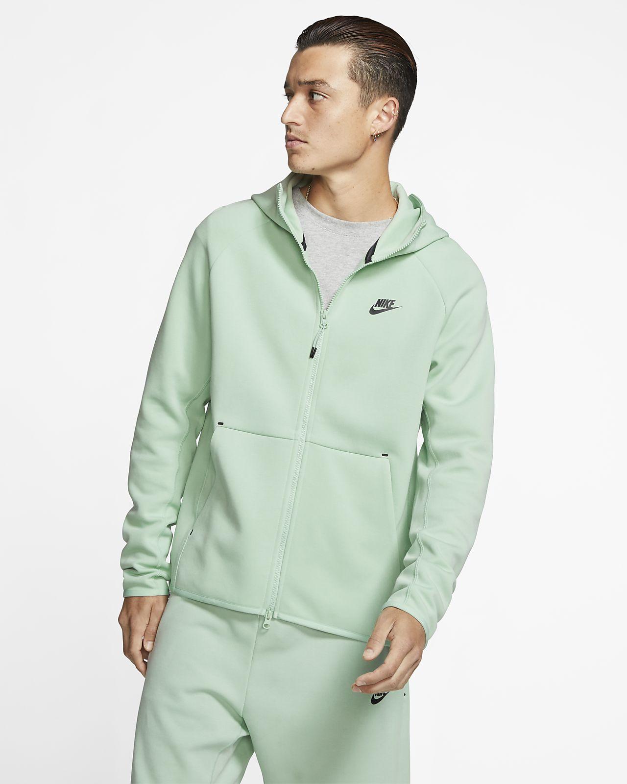 Nike Tech Fleece giacca con cappuccio fitness uomo zip