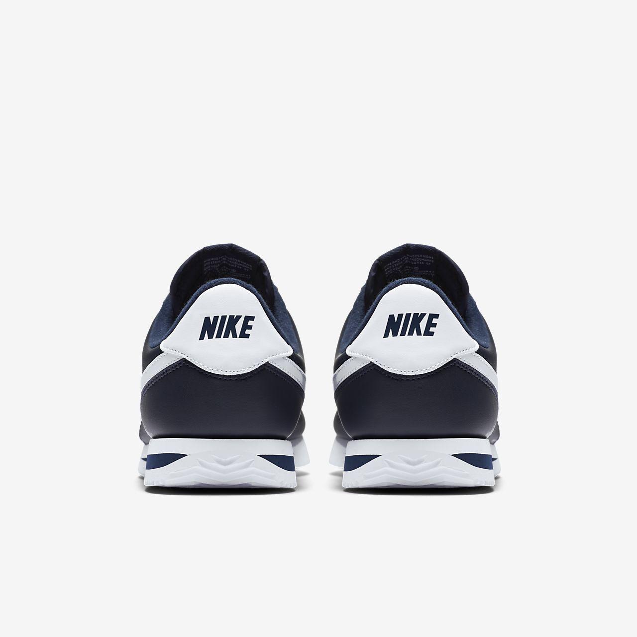 nike cortez basic mens shoe