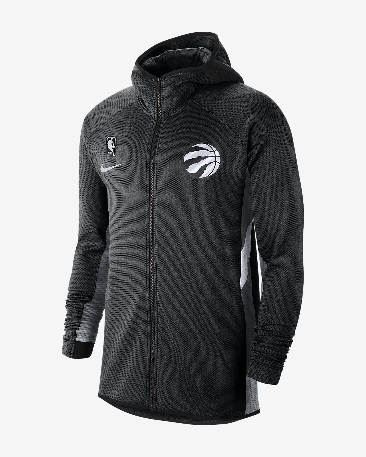Toronto Raptors Nike Therma Flex Showtime NBA-hettegenser til herre