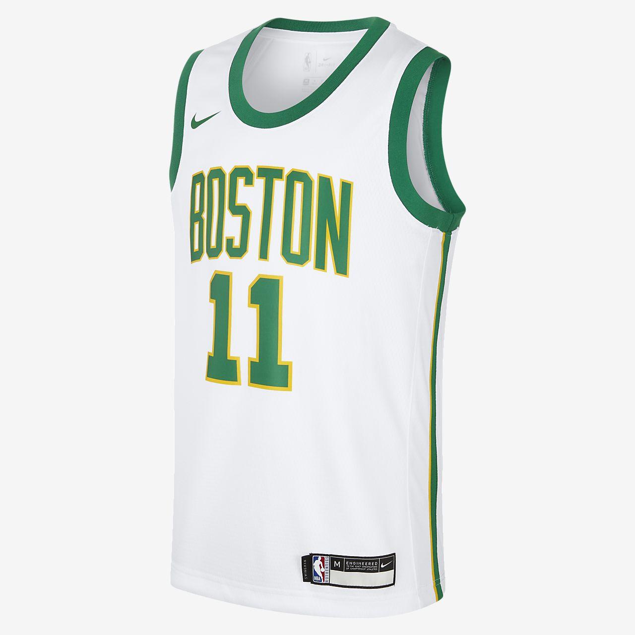 波士顿凯尔特人队 City Edition SwingmanNike NBA Jersey 大童(男孩)球衣