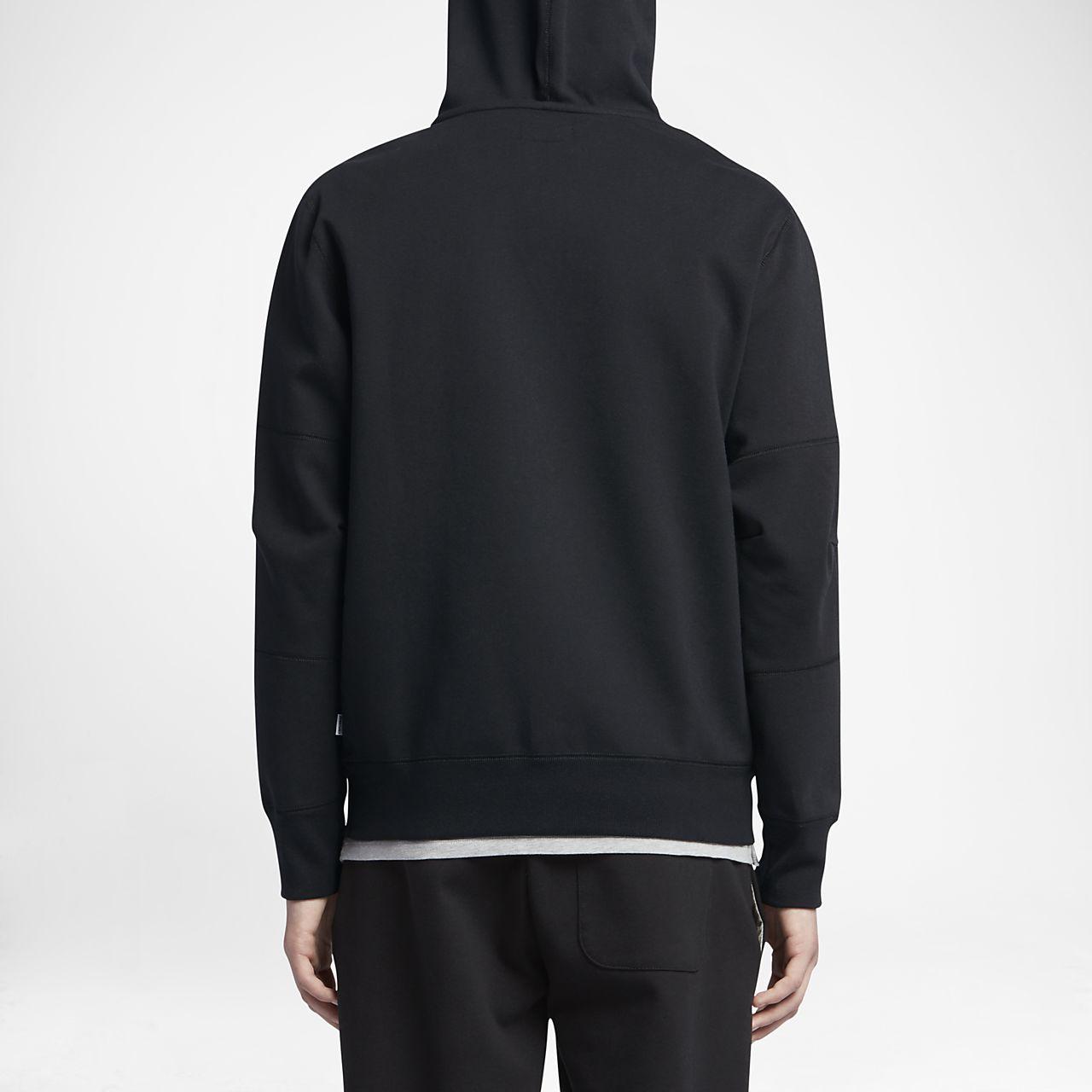 black converse hoodie mens