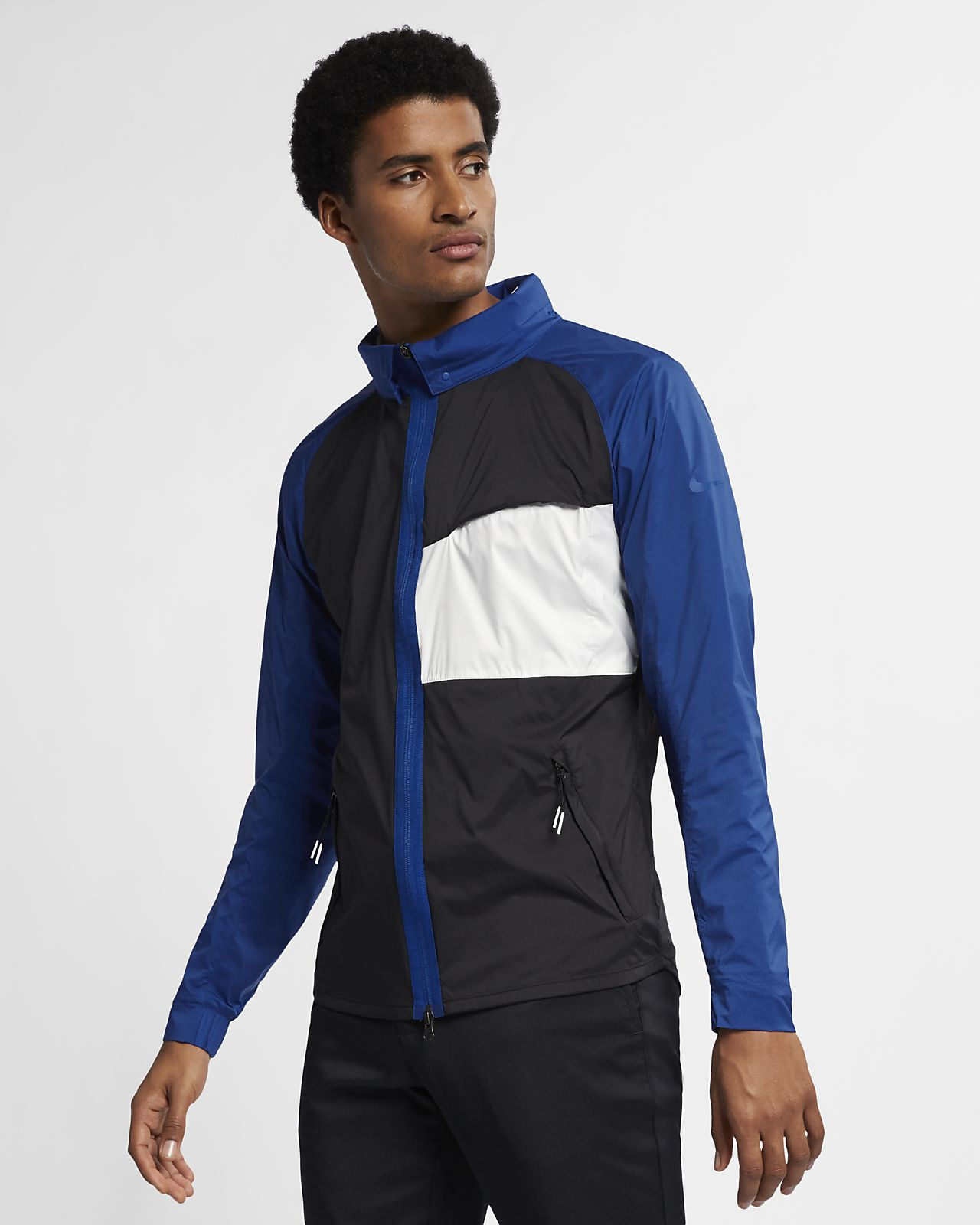 Nike Shield-golfjakke til mænd