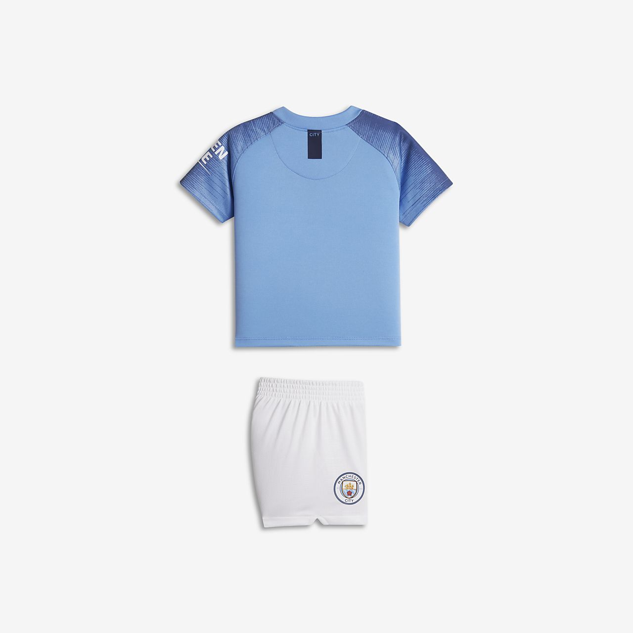 28ff5361ce5 2018 19 Manchester City FC Stadium Home Baby   Toddler Football Kit ...