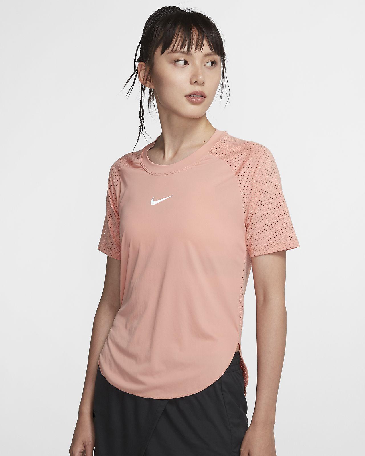 Nike City Sleek 女子短袖跑步上衣
