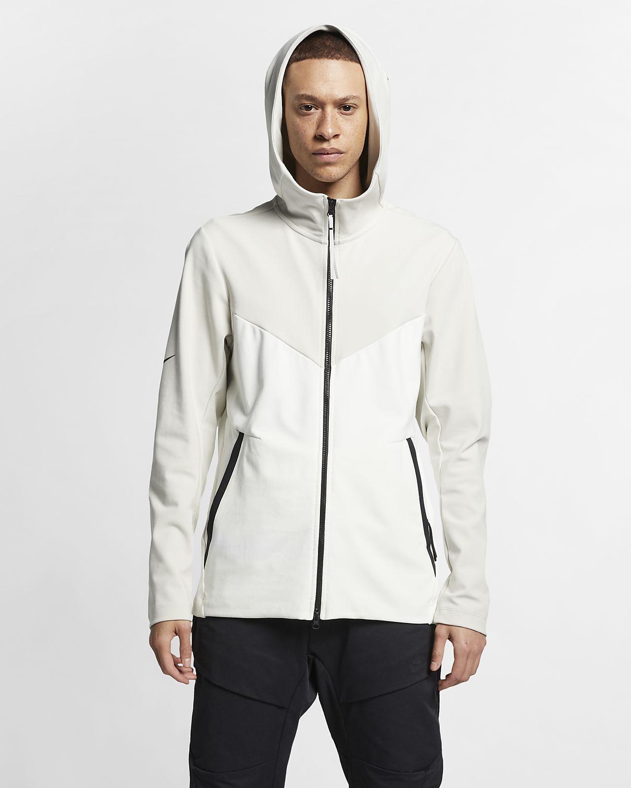 Pánská pleteninová mikina Nike Sportswear Tech Pack s kapucí a dlouhým zipem