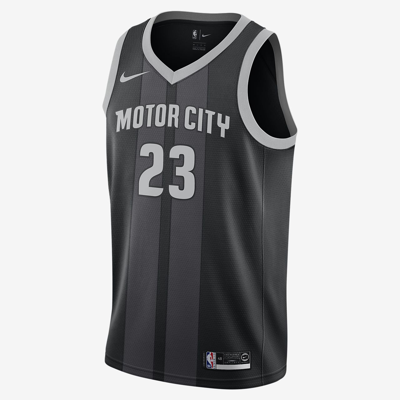 Blake Griffin City Edition Swingman (Detroit Pistons) Men's Nike NBA Connected Jersey
