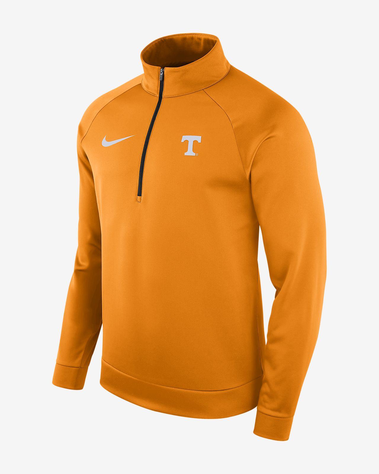 8cf31f0a67b8 Nike College Dri-FIT Therma (Tennessee) Men s Half-Zip Long Sleeve ...