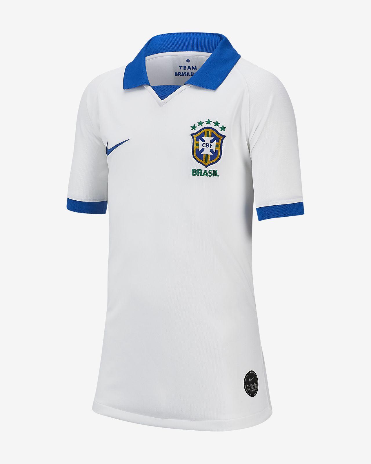 Camisola Brasil Stadium 2019 Júnior
