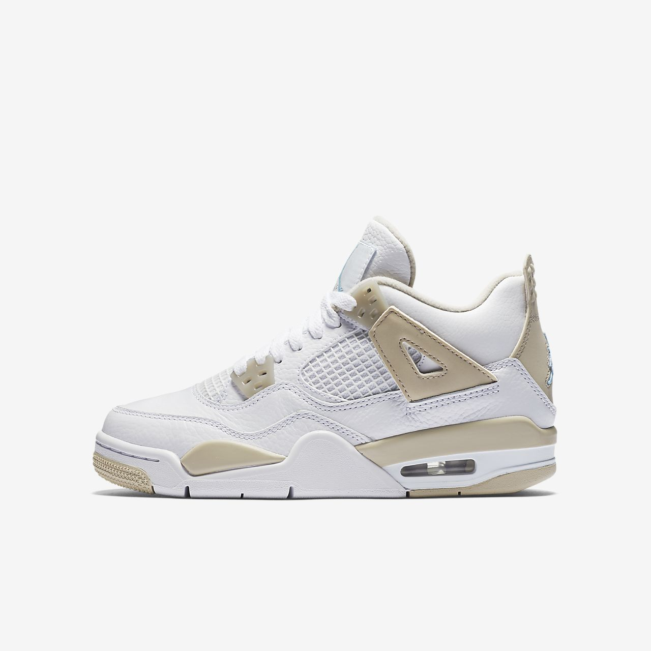... Air Jordan 4 Retro (3.5y-9.5y) Girls' Shoe