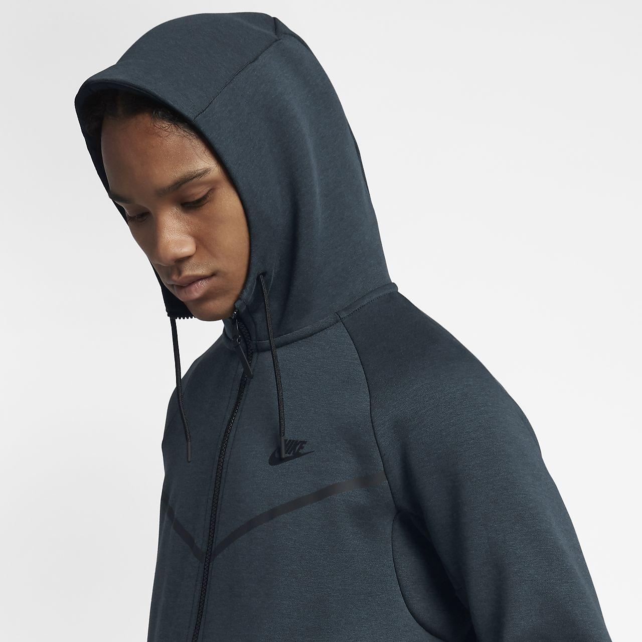 nike sportswear tech fleece windrunner rouge