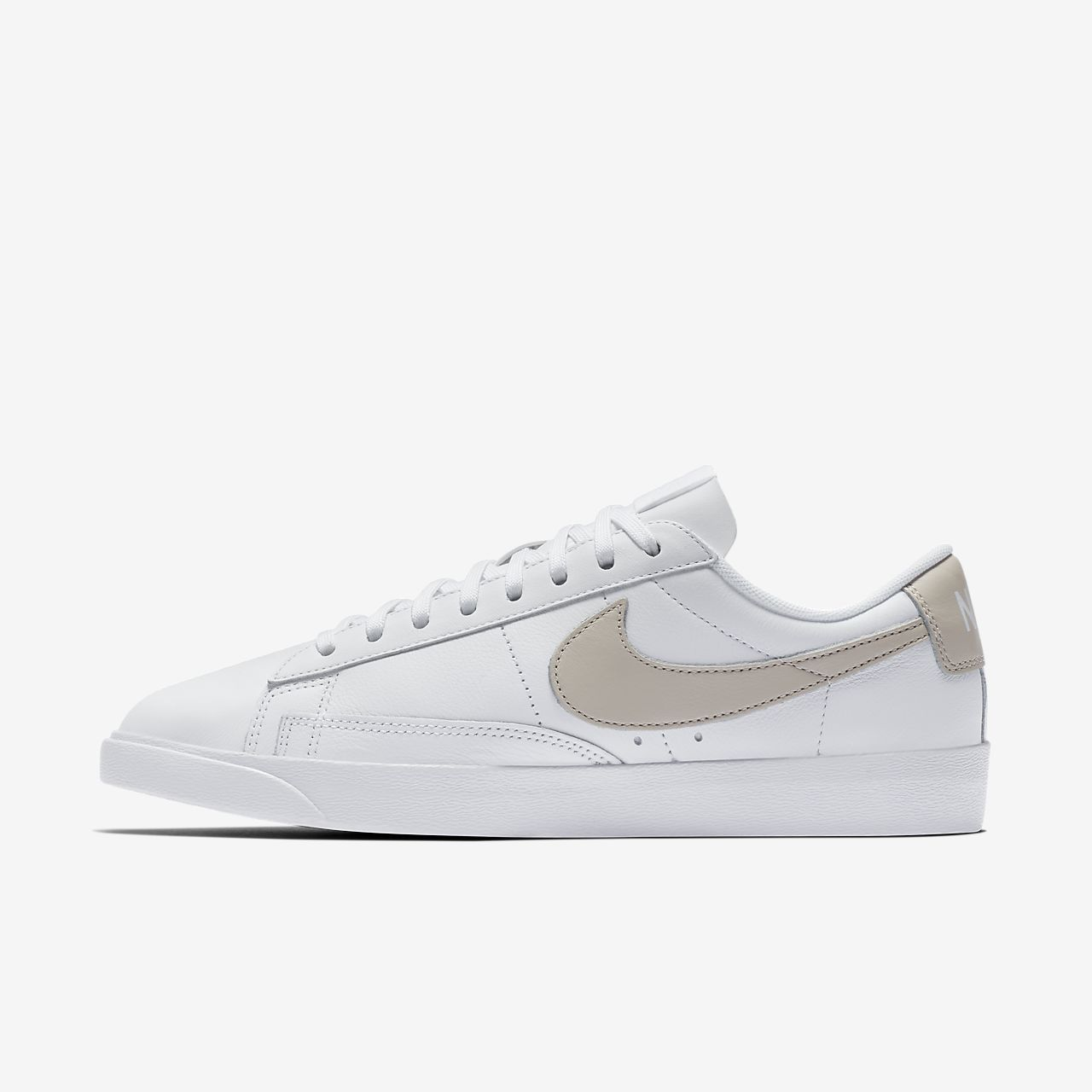 Nike SportswearBLAZER - Trainers - white/particle rose