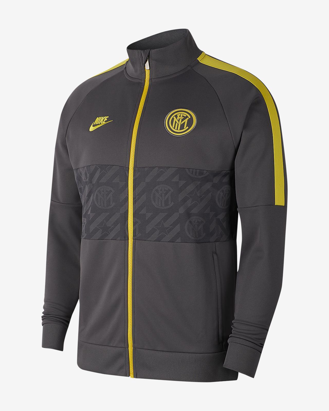 Chamarra de fútbol para hombre Inter Milan