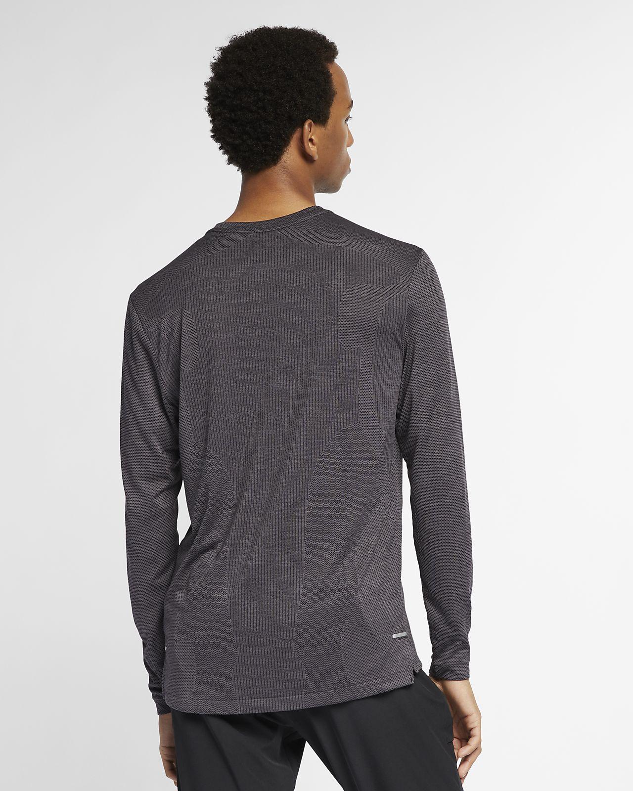 21c5fcbe Nike TechKnit Ultra Men's Long-Sleeve Running Top. Nike.com