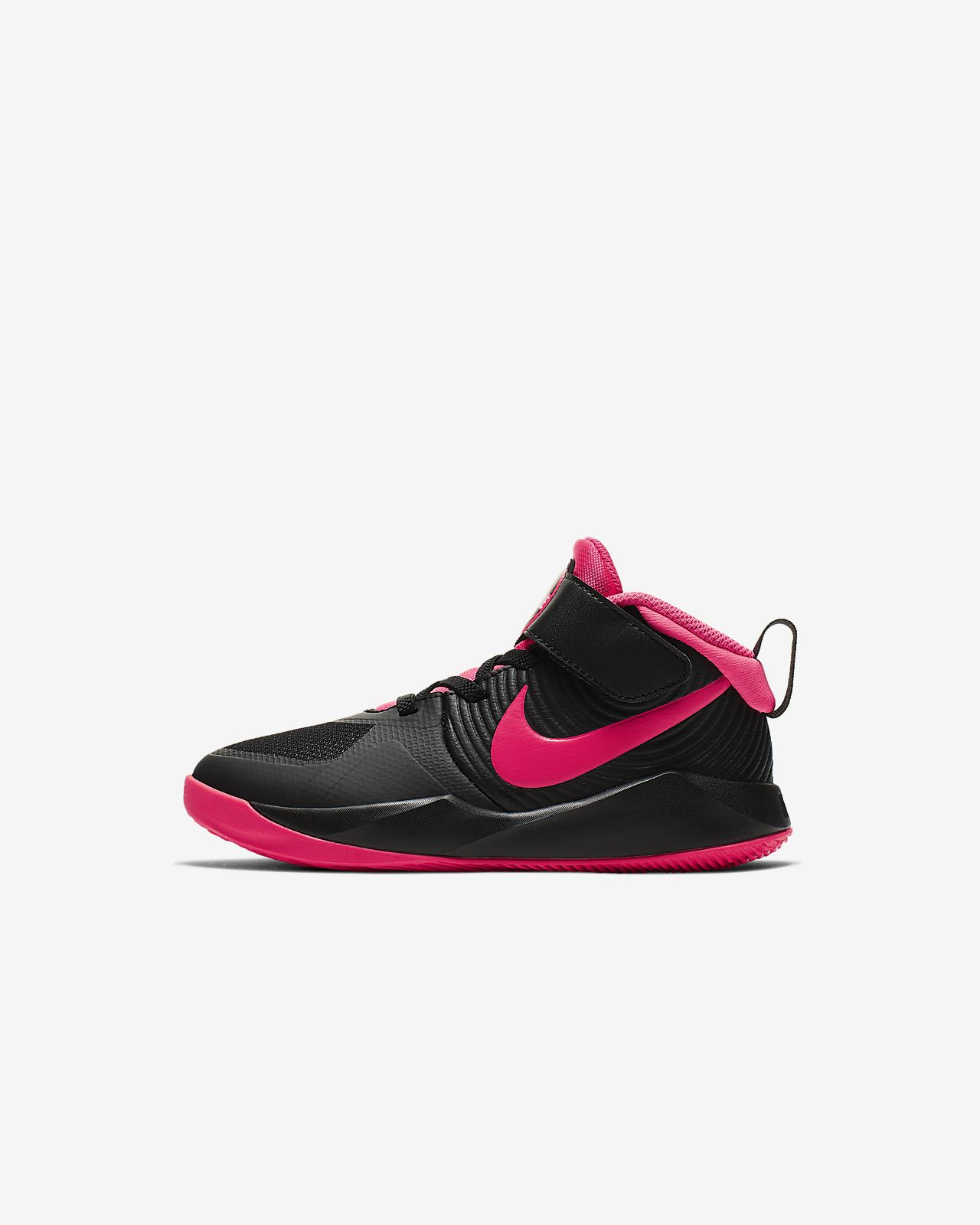 Nike Team Hustle D 9 (PS) 幼童运动童鞋