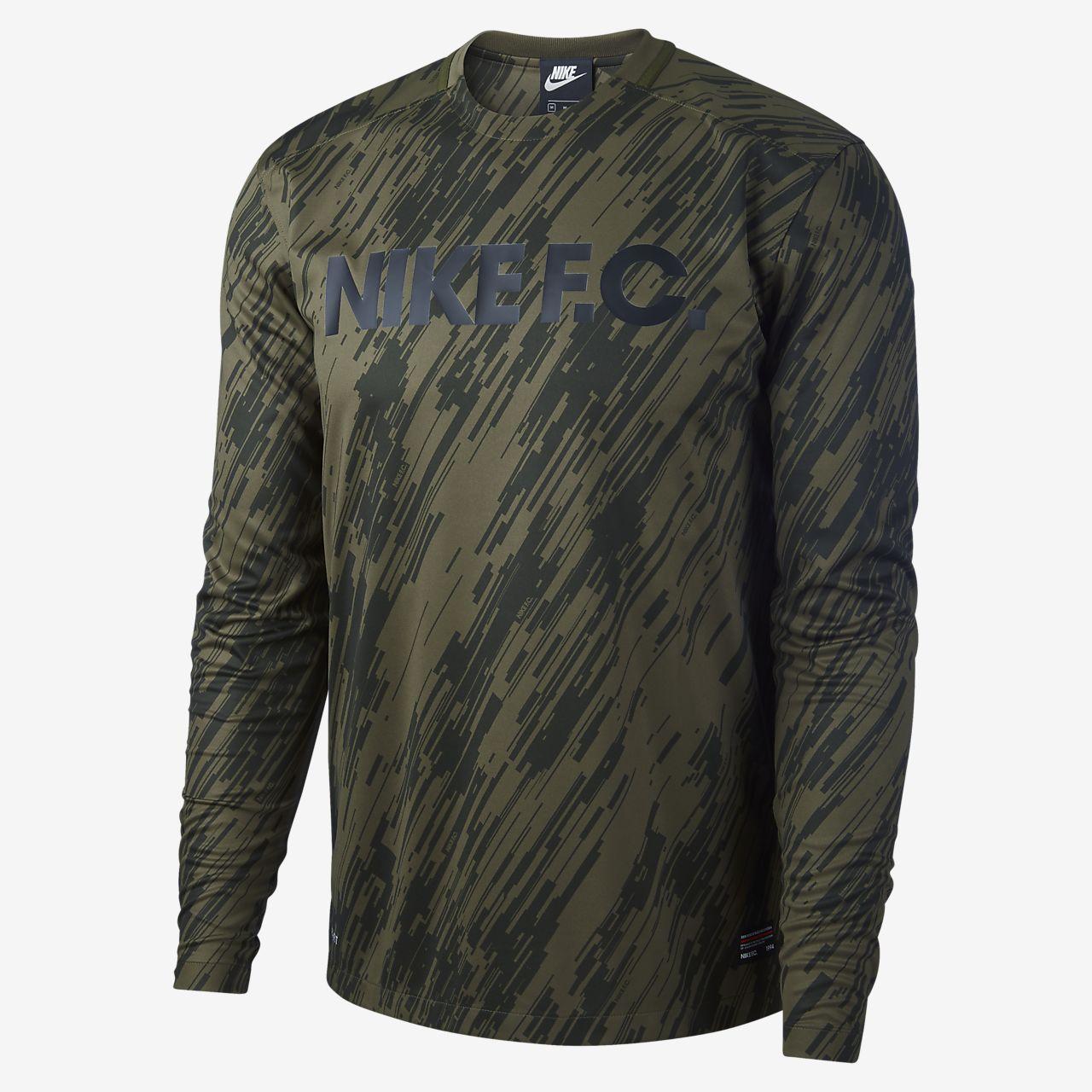 d209c6593556f Camiseta de fútbol de manga larga Nike F.C. Nike.com CL