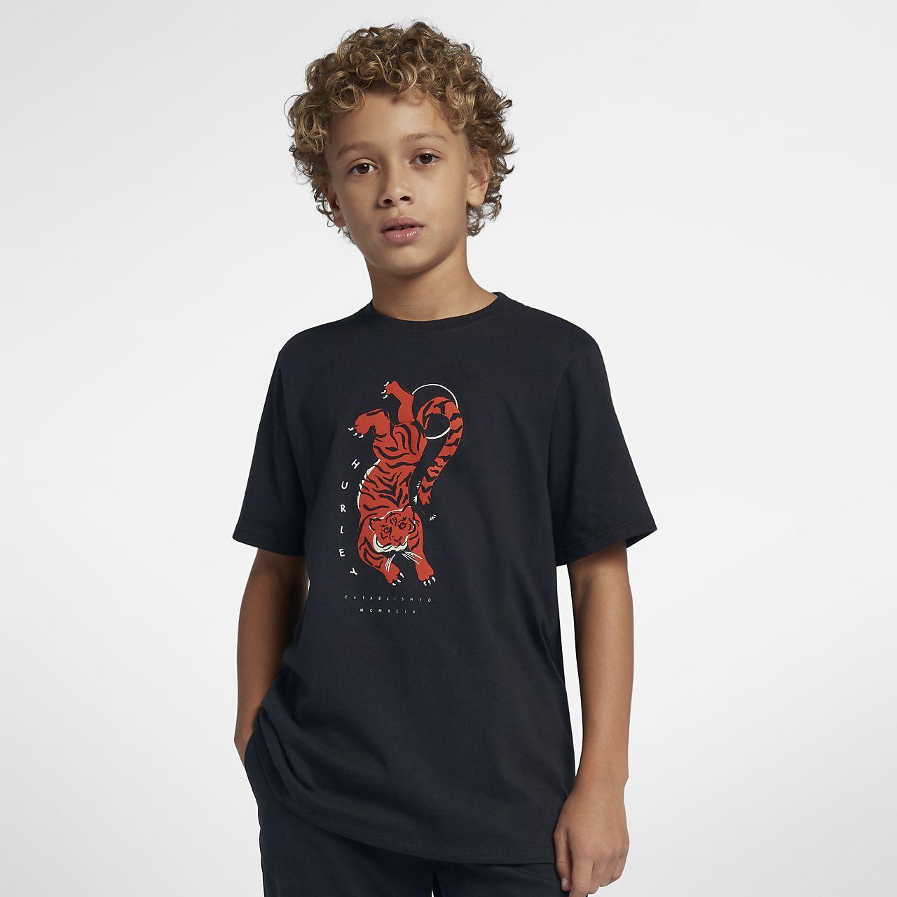 Hurley Premium Tigre Boys' T-Shirt