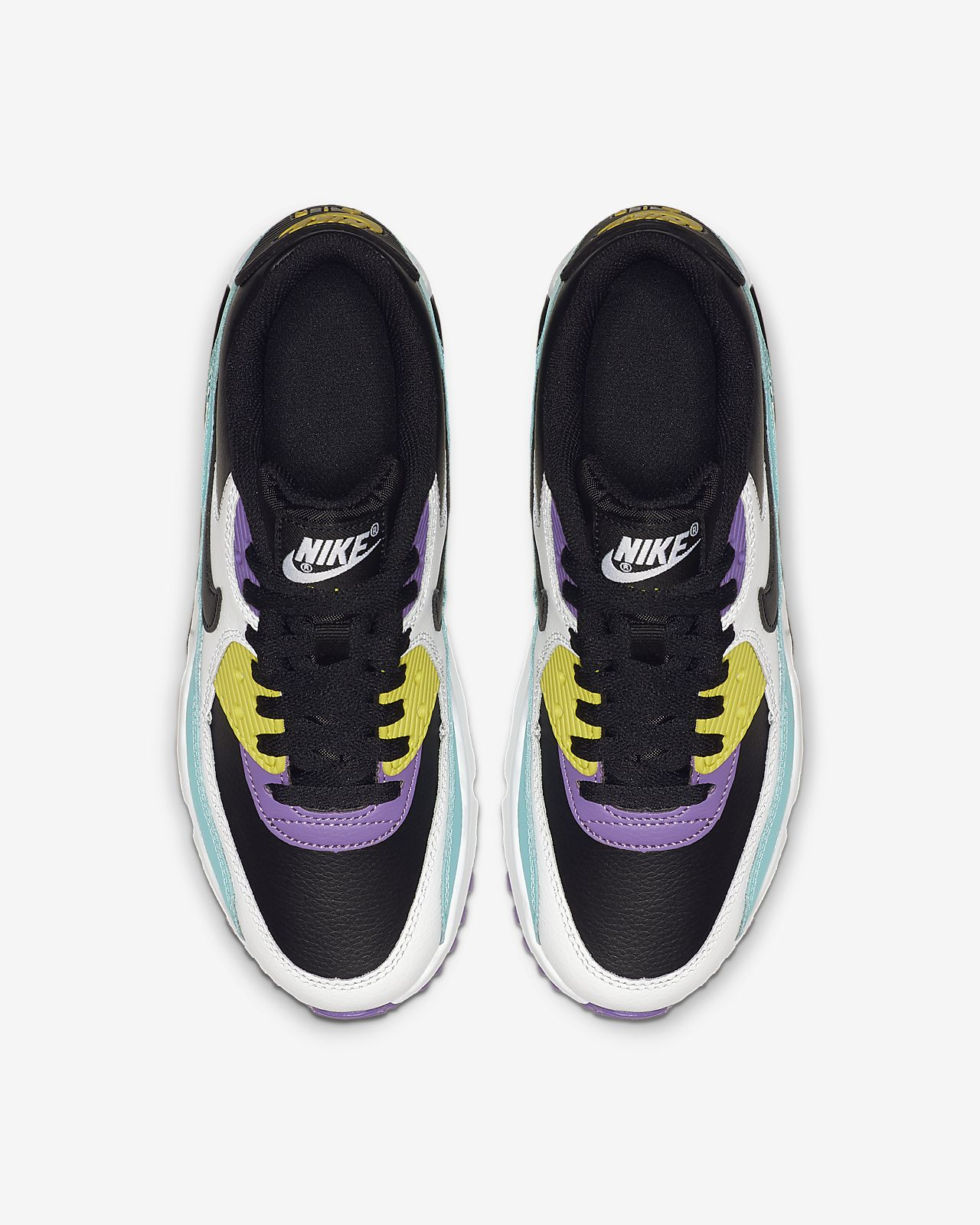 cb5cb353954ab Nike Air Max 90 Leather Big Kids' Shoe
