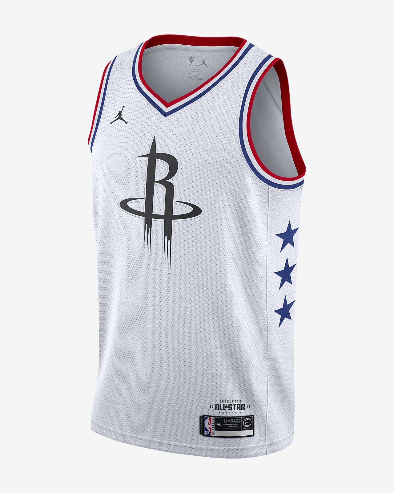 c9974c5b1 Men s Jordan NBA Connected Jersey. James Harden All-Star Edition Swingman