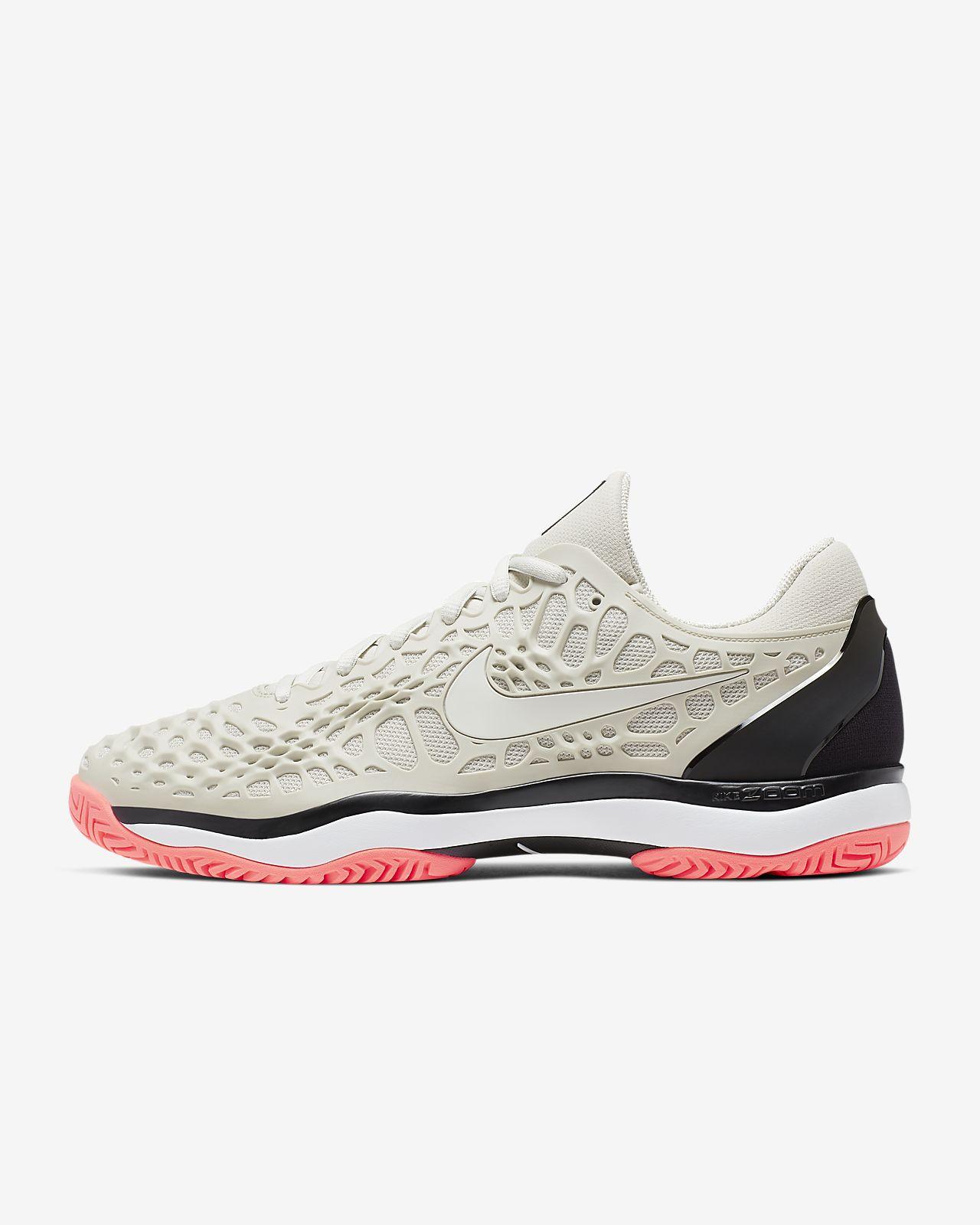 NikeCourt Zoom Cage 3 Sert Kort Erkek Tenis Ayakkabısı