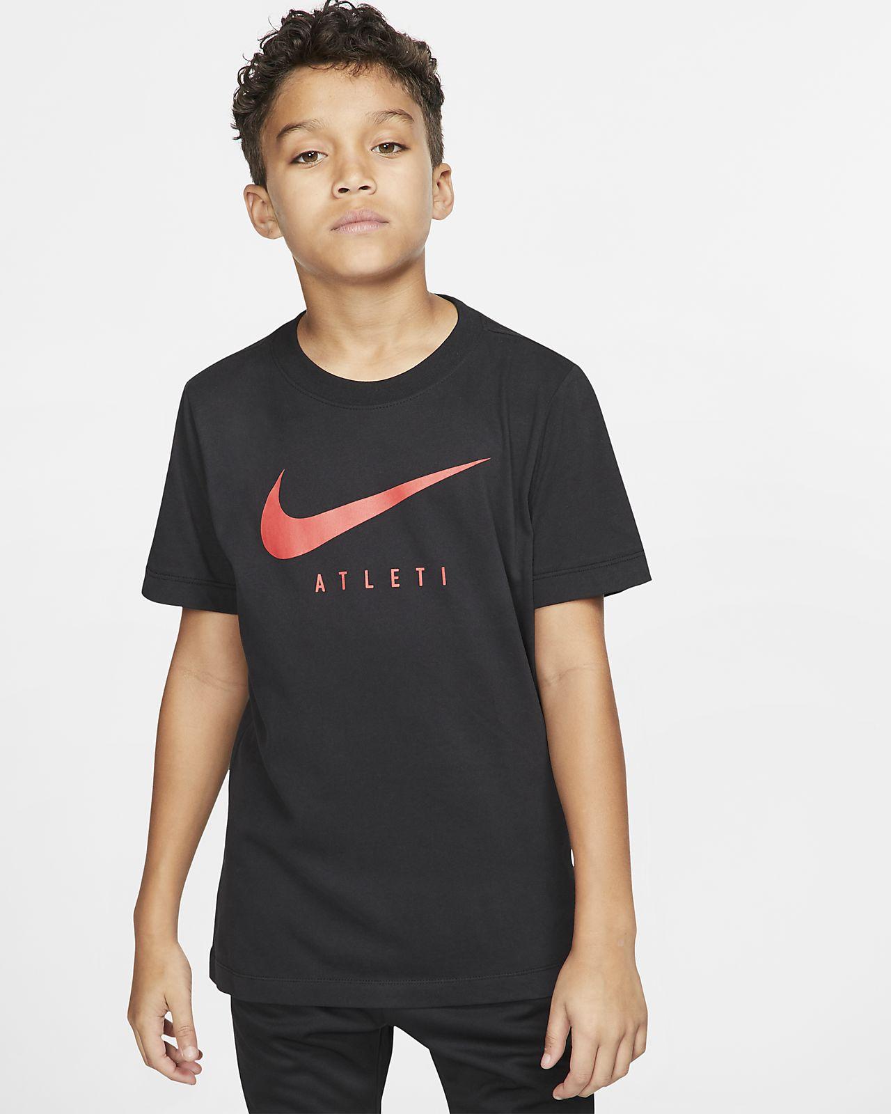 Nike Dri-FIT Atlético de Madrid Older Kids' Football T-Shirt