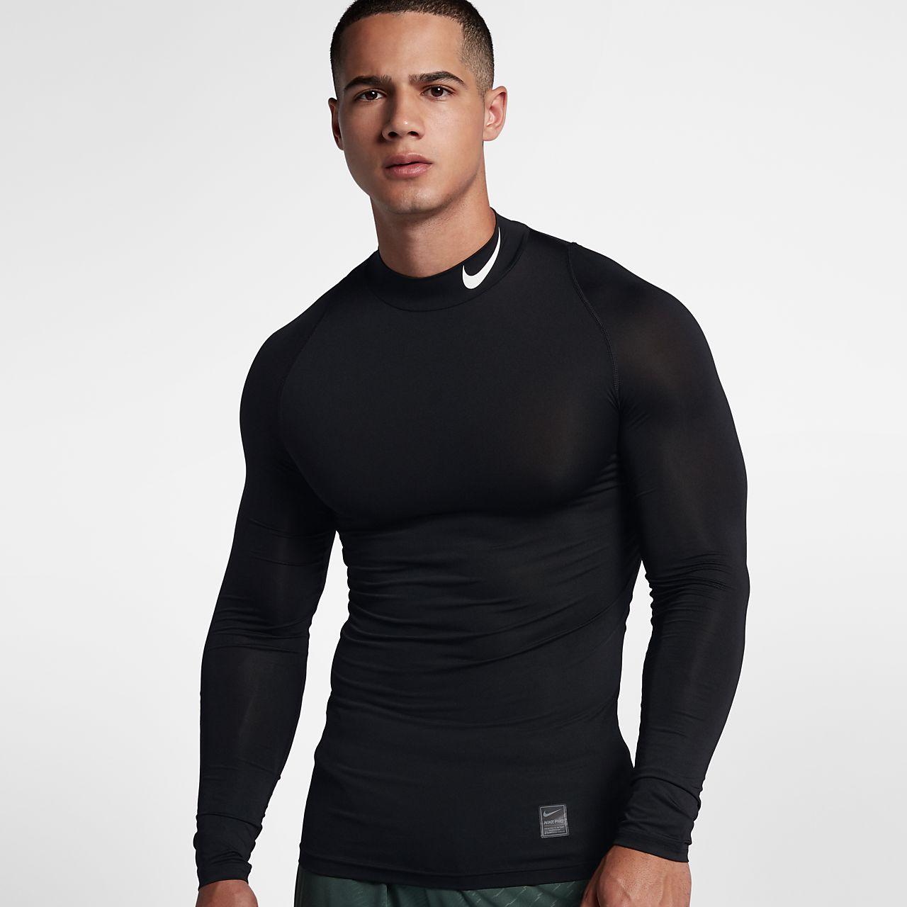 Nike Pro - langærmet træningstrøje til mænd
