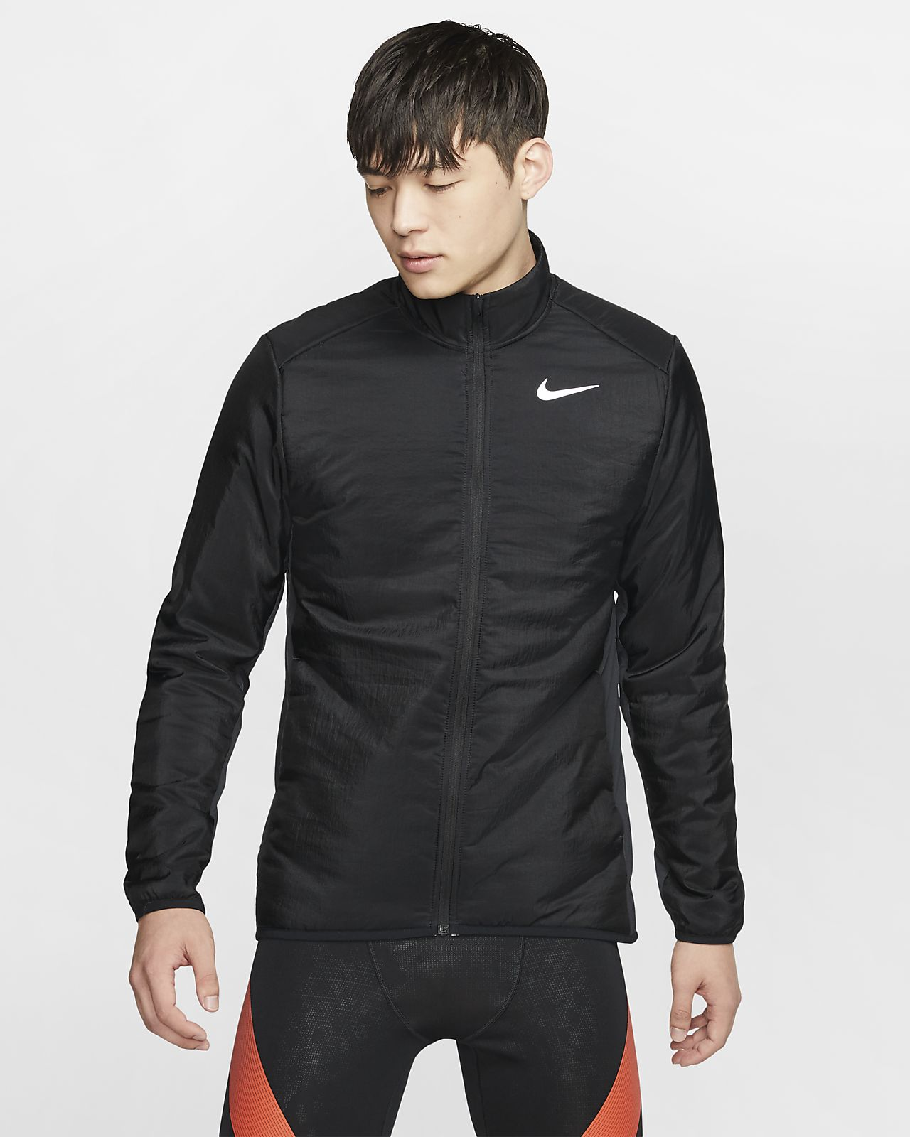 Nike AeroLayer-løbejakke til mænd