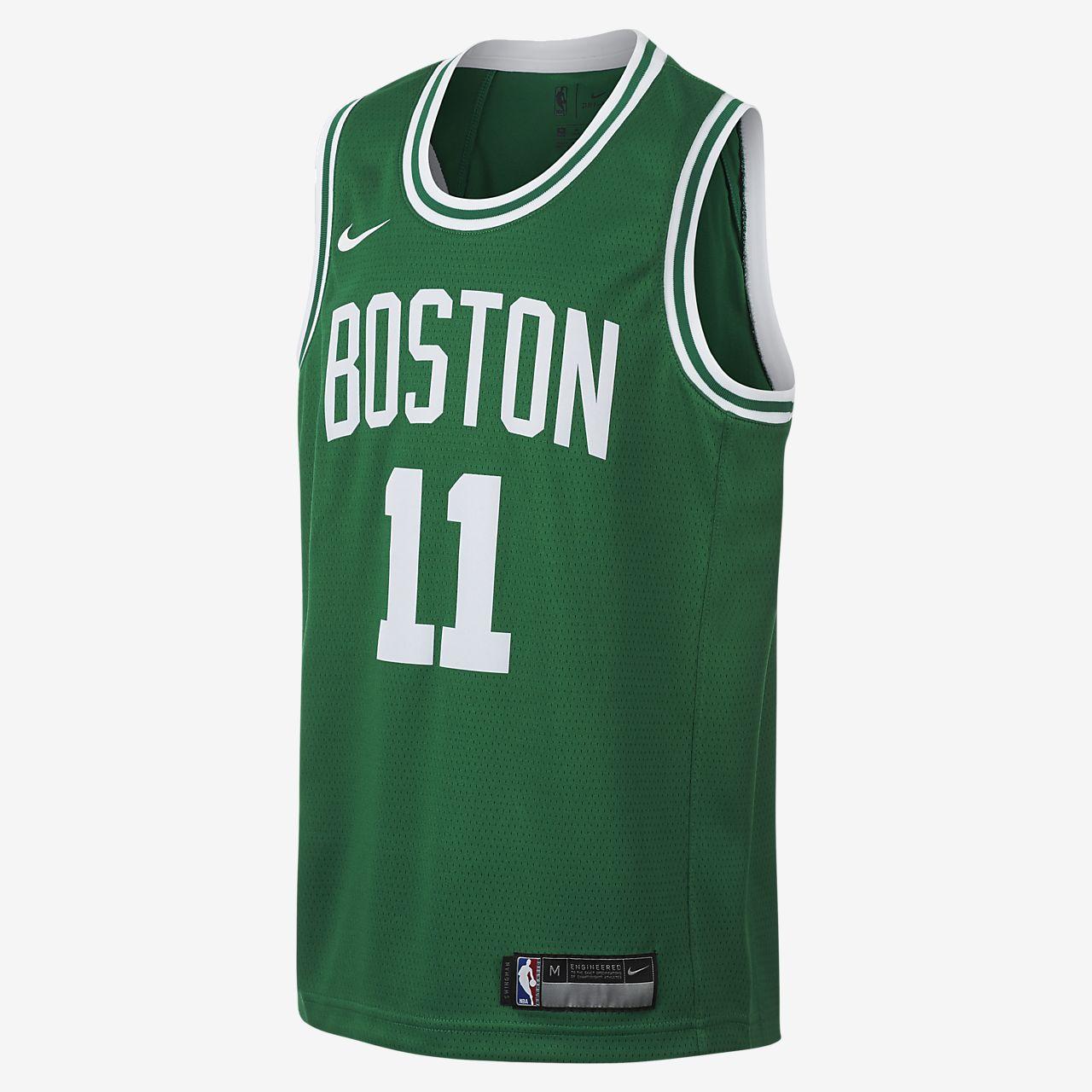 Koszulka NBA dla dużych dzieci Kyrie Irving Boston Celtics Nike Icon Edition Swingman