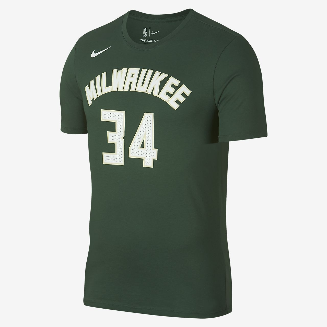 301d6557eb3 Giannis Antetokounmpo Milwaukee Bucks Nike Dri-FIT Men s NBA T-Shirt ...
